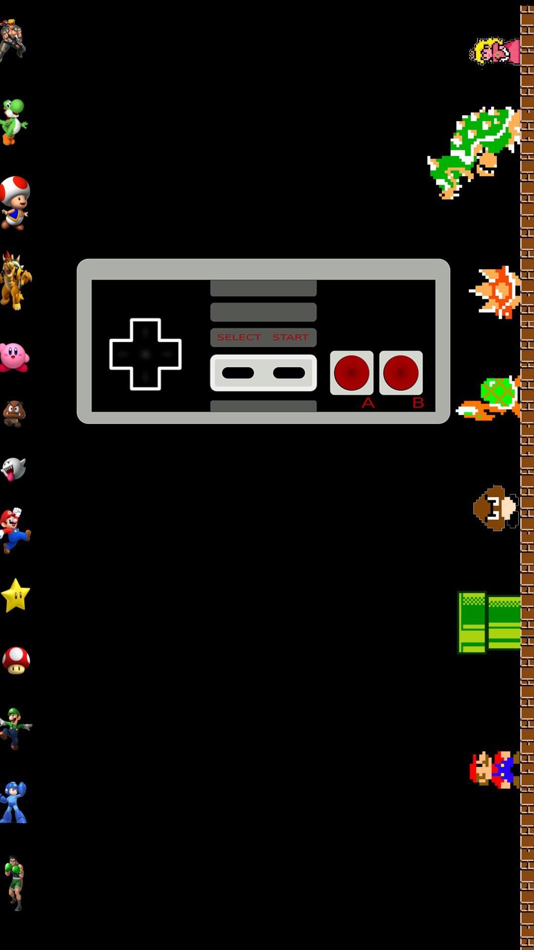 Nintendo NES Classic iPhone Wallpaper HD   Amazing HD Wallpaper   Pinterest    Nes classic and Hd wallpaper