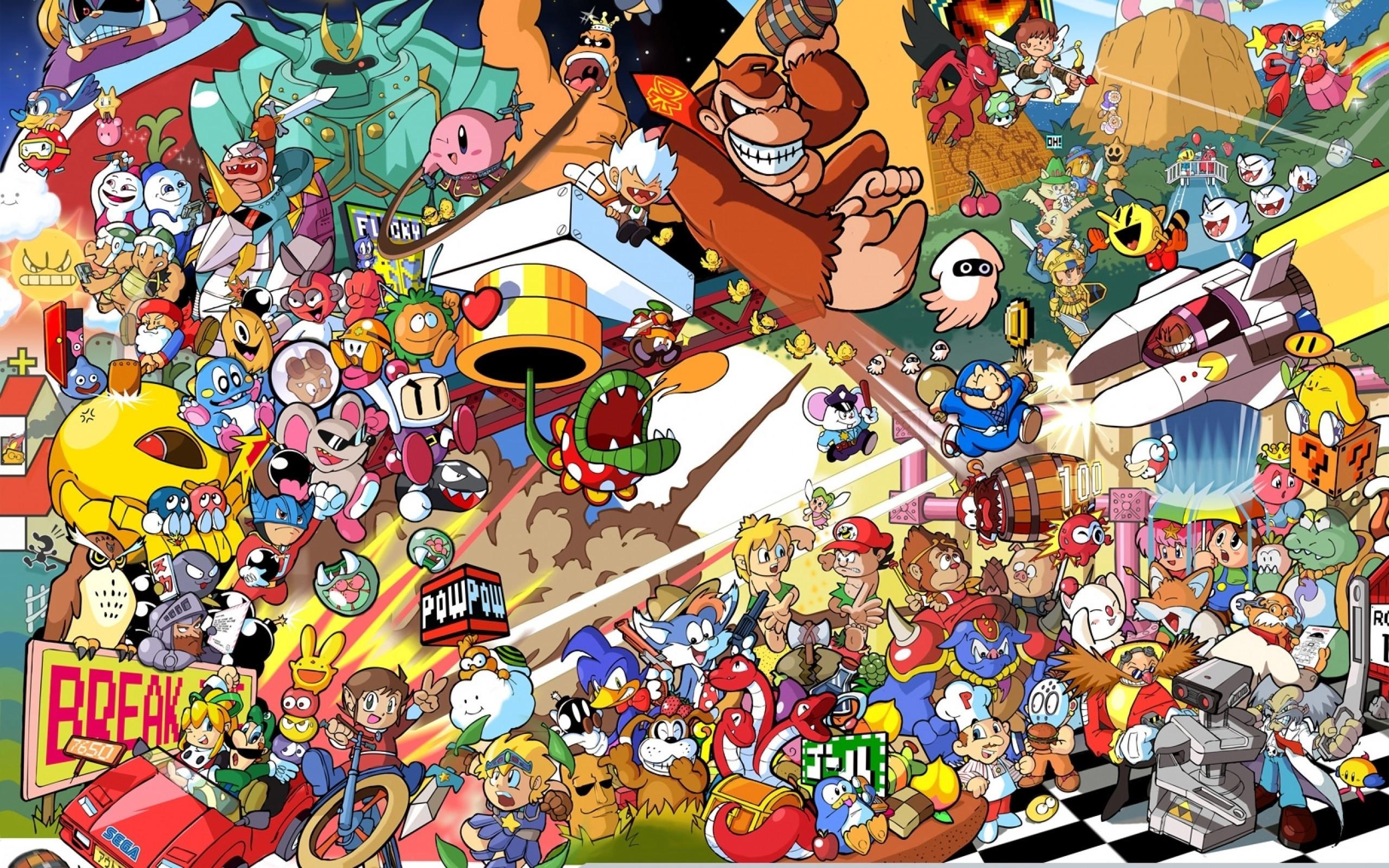 Nintendo super smash bros all star romstation wallpaper background