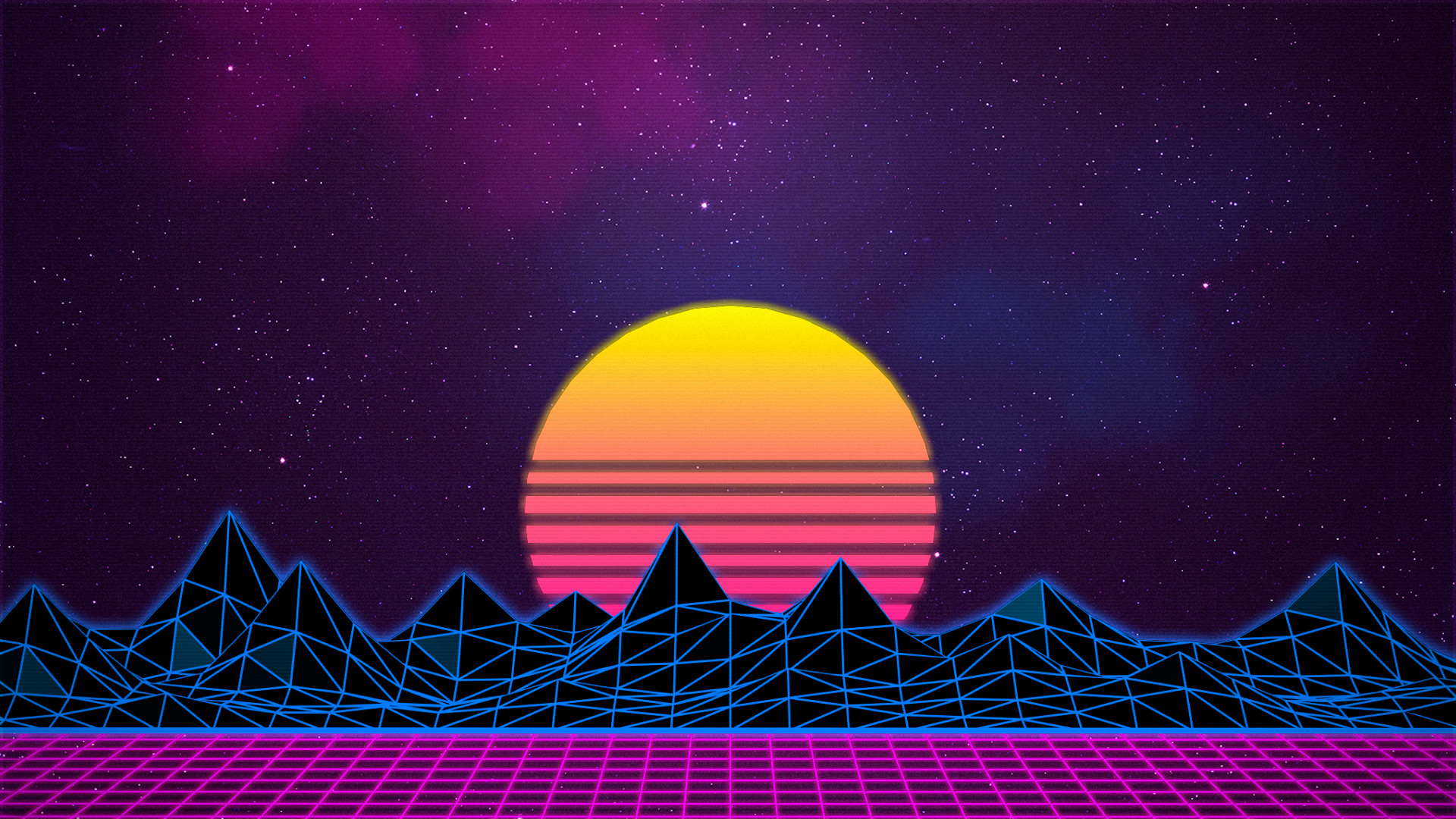 … new retro wave neon synthwave wallpaper no 383903 …