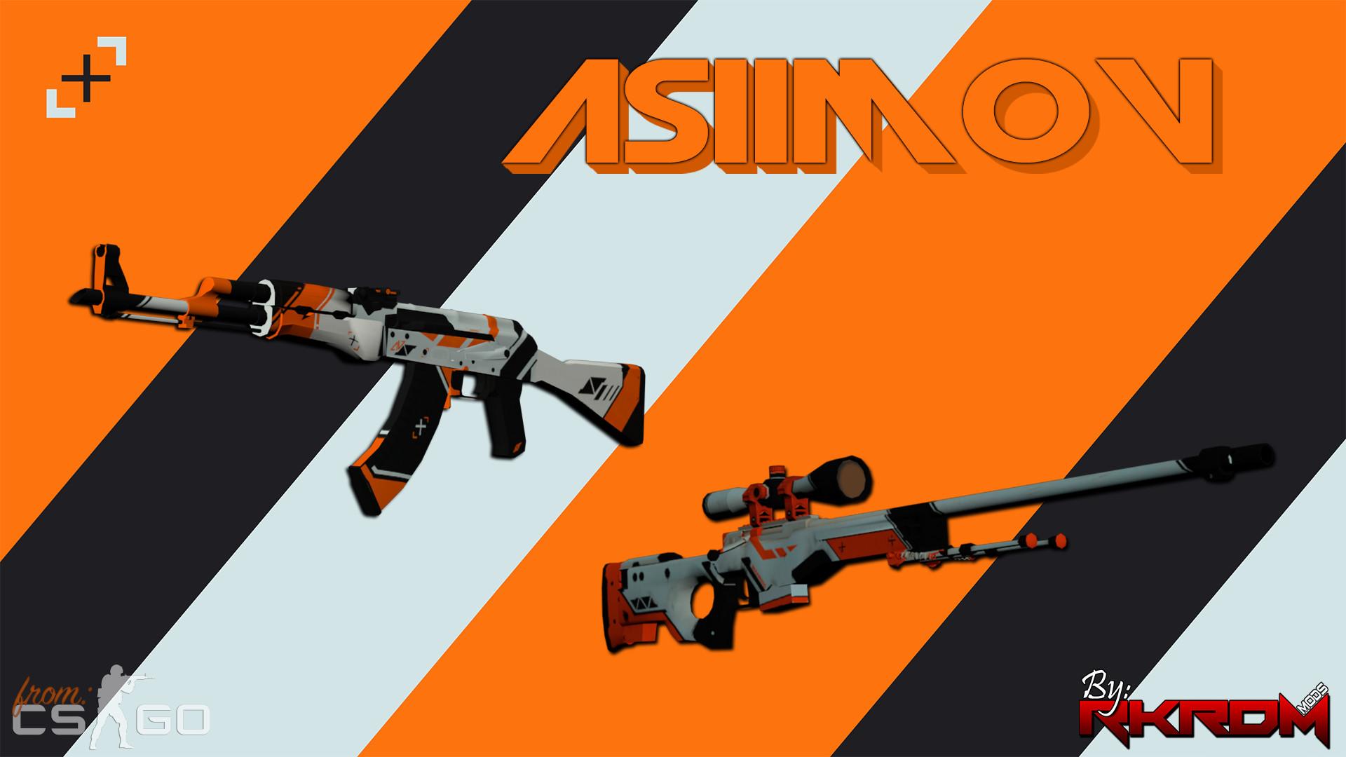 AK47 & AWP – Asiimov Edition