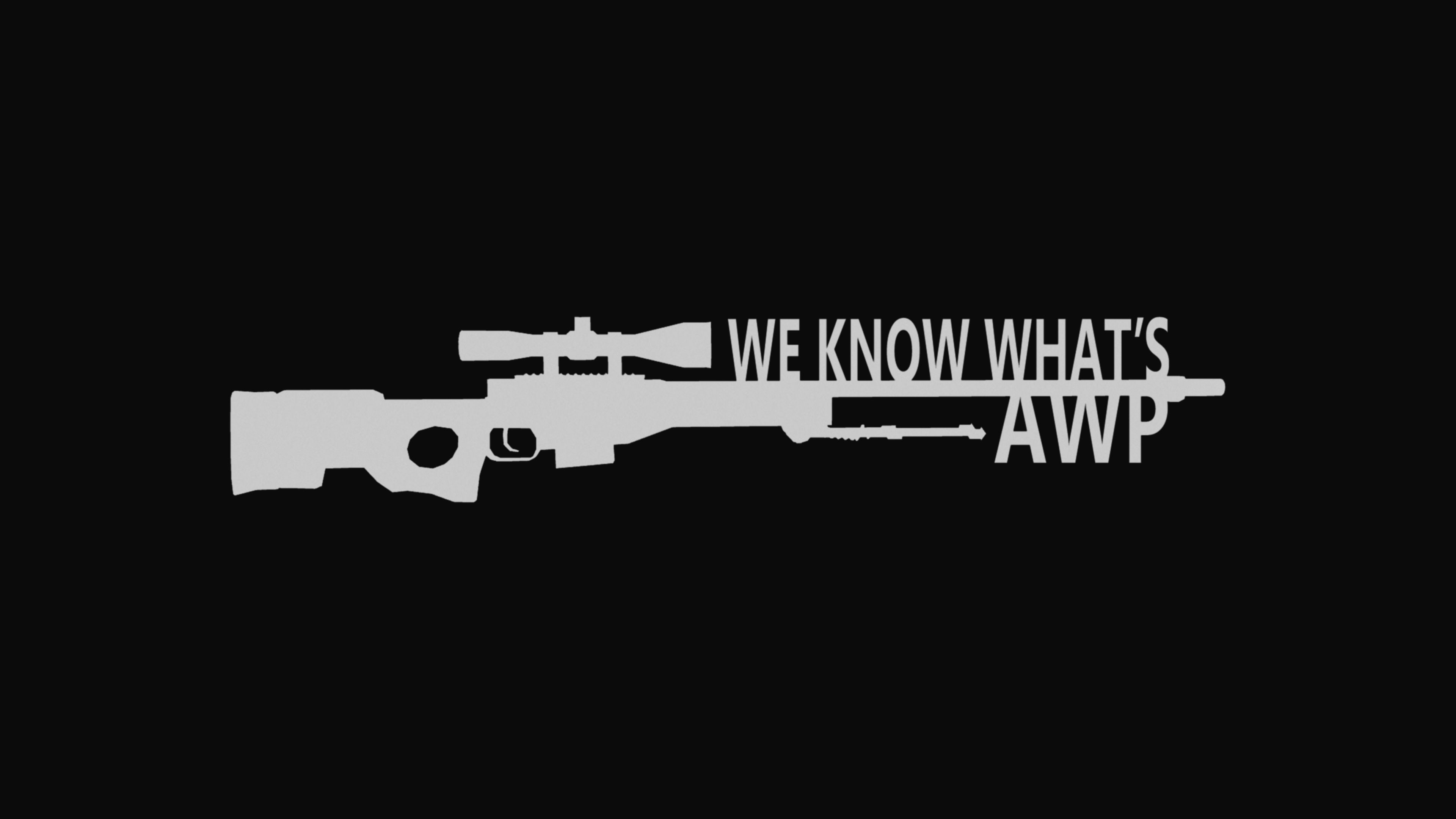 We Know Whats AWP CSGO Wallpaper by WeAreFine on DeviantArt