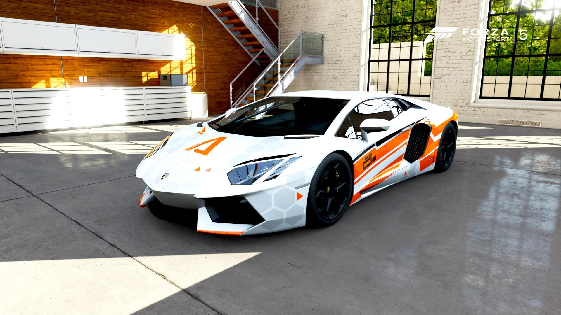 Stunning TitanFall Aventador Made in Forza Motorsport 5