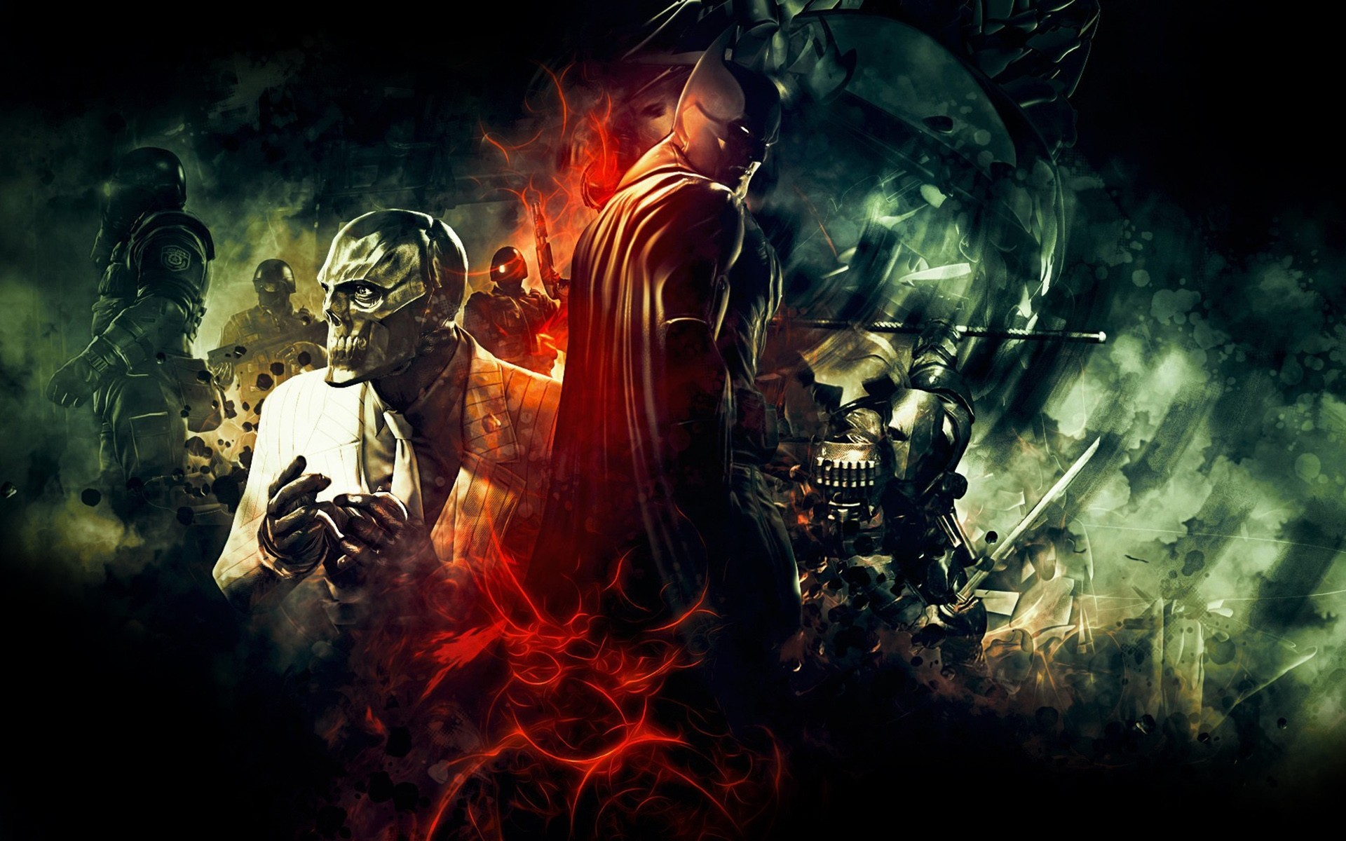 Arkham Origins (8) Batman .