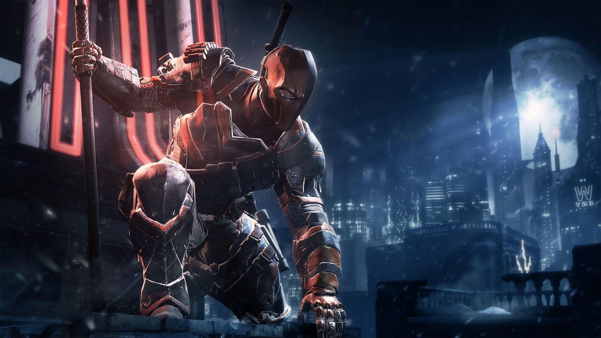 Deathstroke Batman Arkham Origins   HD Games Wallpaper Free Download …