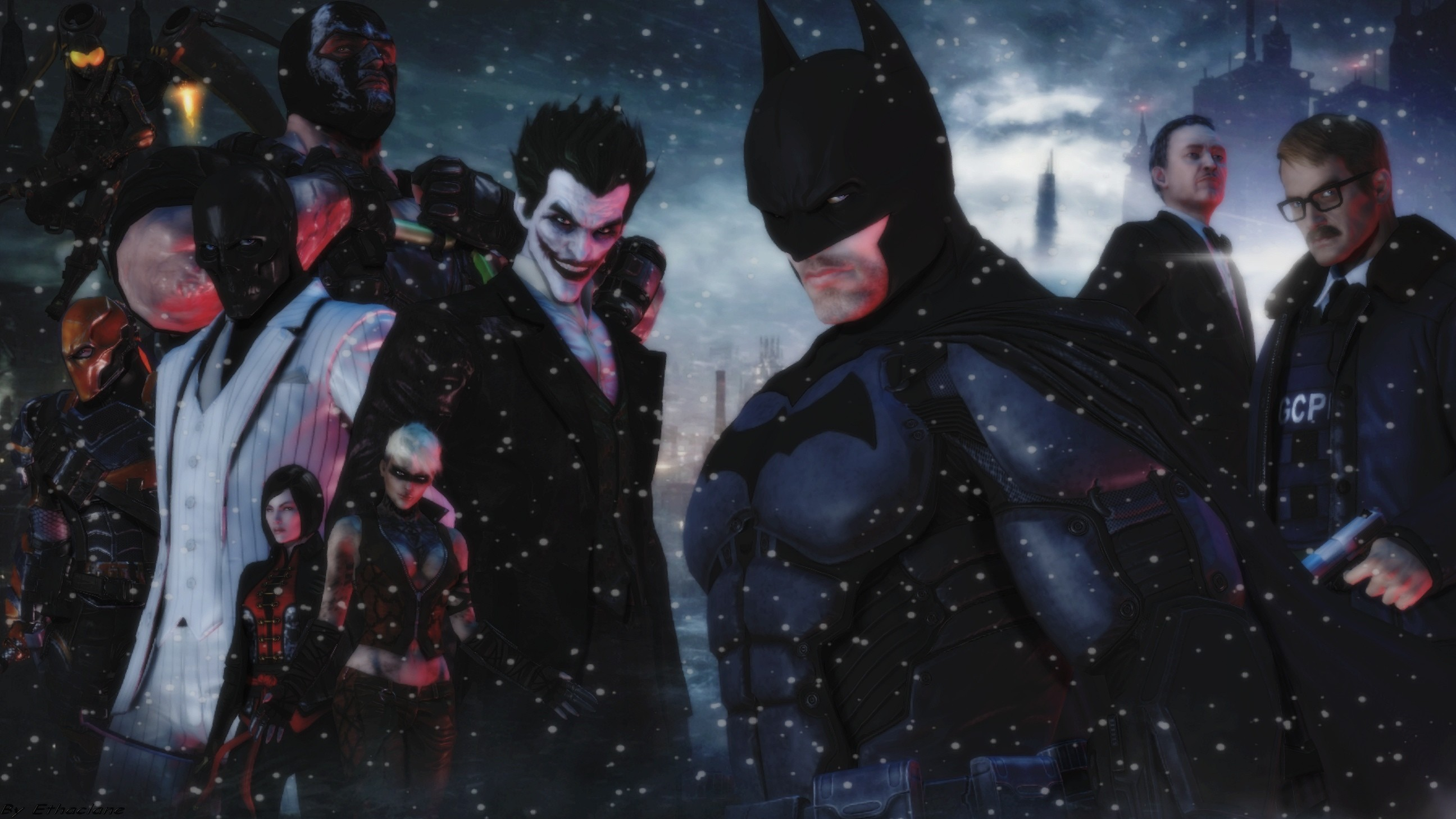 Batman Arkham origins wallpaper by ethaclane Batman Arkham origins wallpaper  by ethaclane