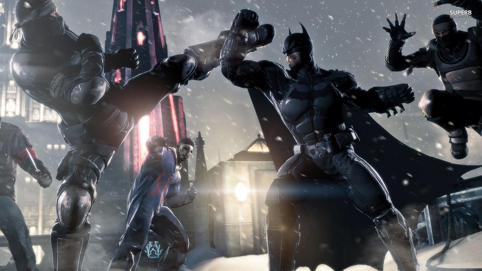 Batman Arkham Origins Wallpaper Free Desktop