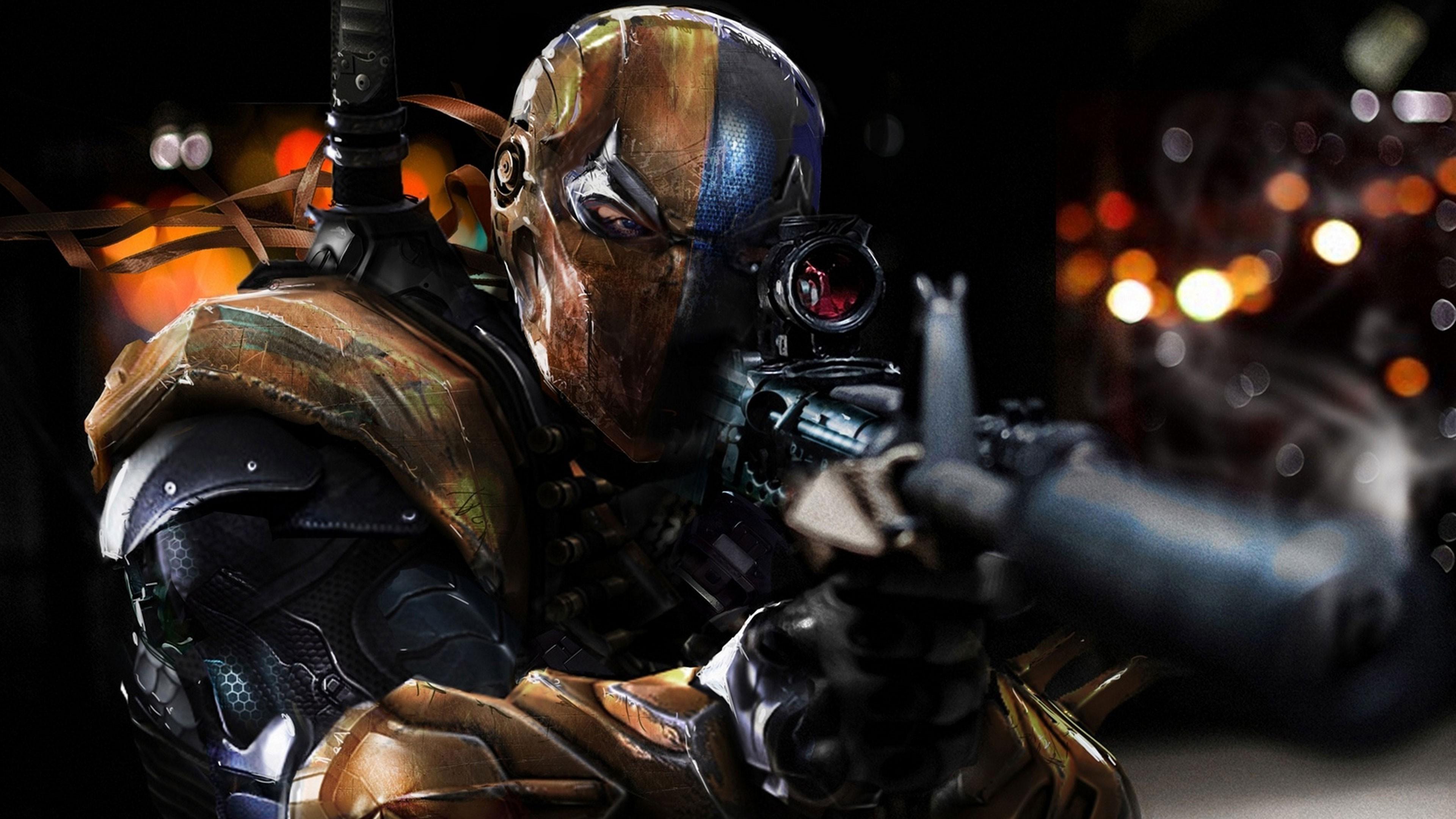 Deathstroke, Batman: Arkham Origins Wallpapers HD / Desktop and Mobile  Backgrounds