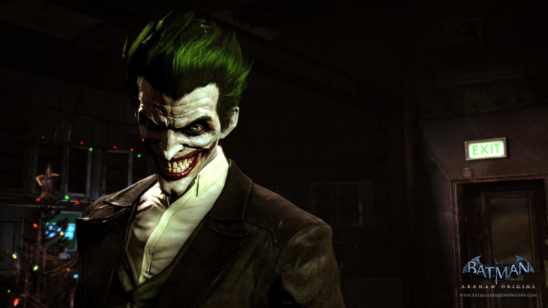 Joker, Deathstroke, Gordon and Batman feature in these HD Arkham Origins  wallpapers