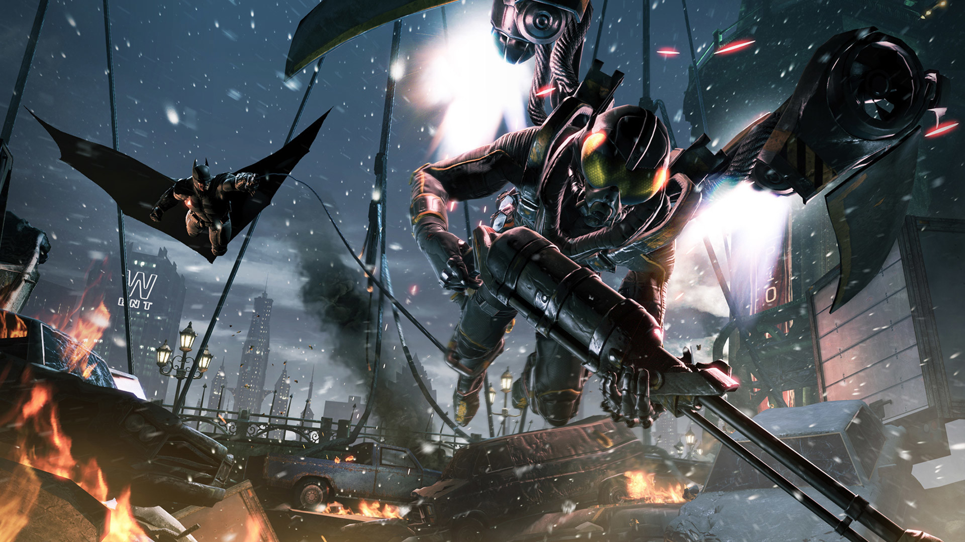 You are downloading Batman Arkham Origins wallpaper 8. download wallpaper