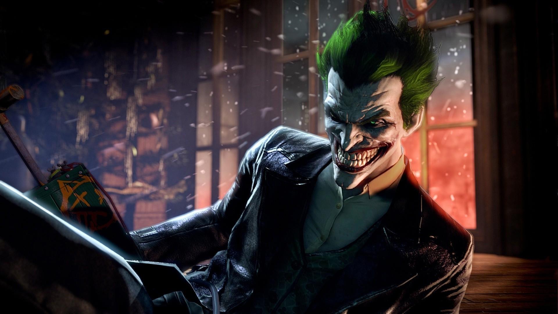 The Joker – Batman – Arkham Origins HD Wallpaper 1920×1080