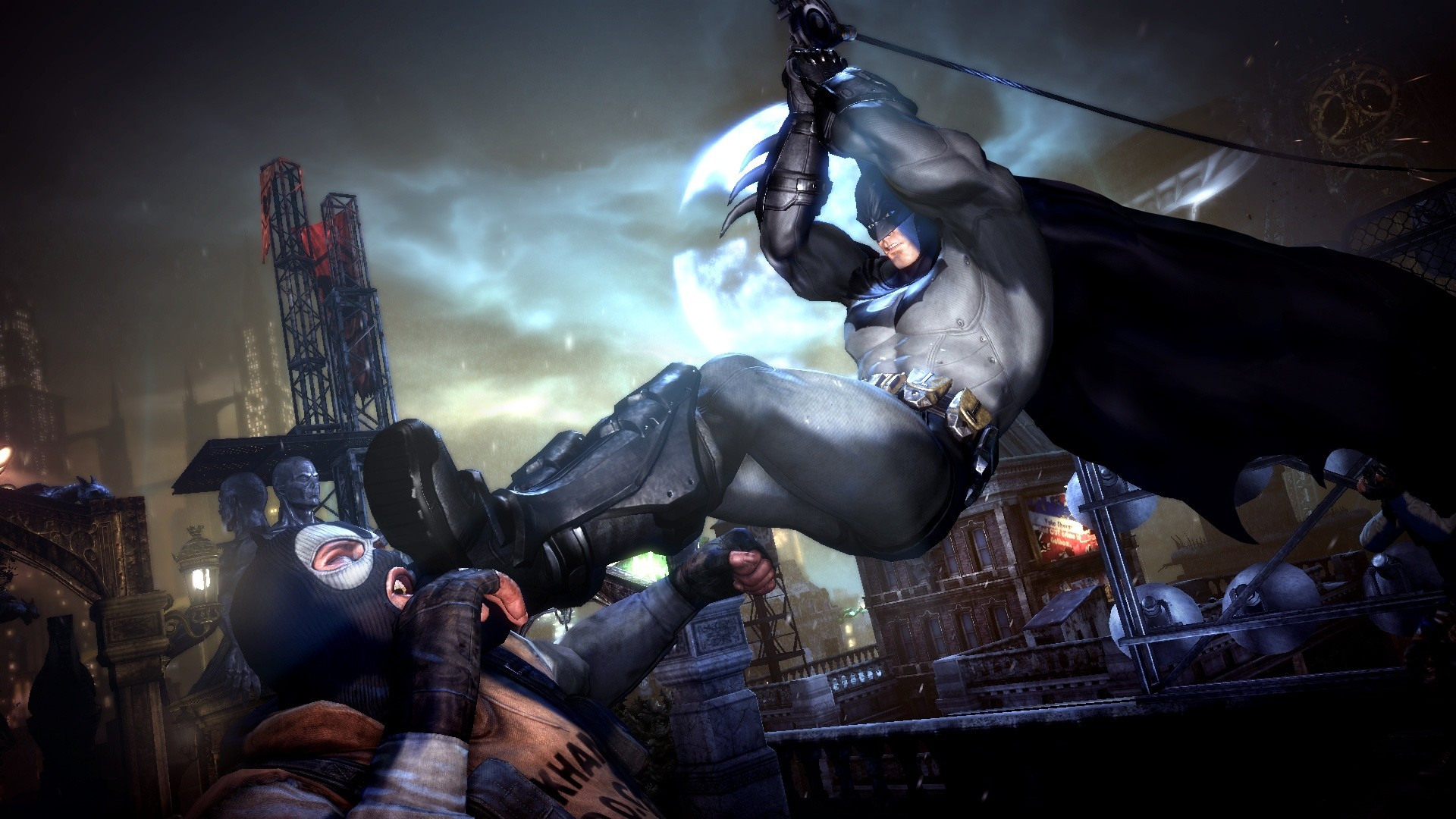 0 Batman Arkham Origins desktop wallpaper WallpaperPixel Batman City  Wallpapers Group