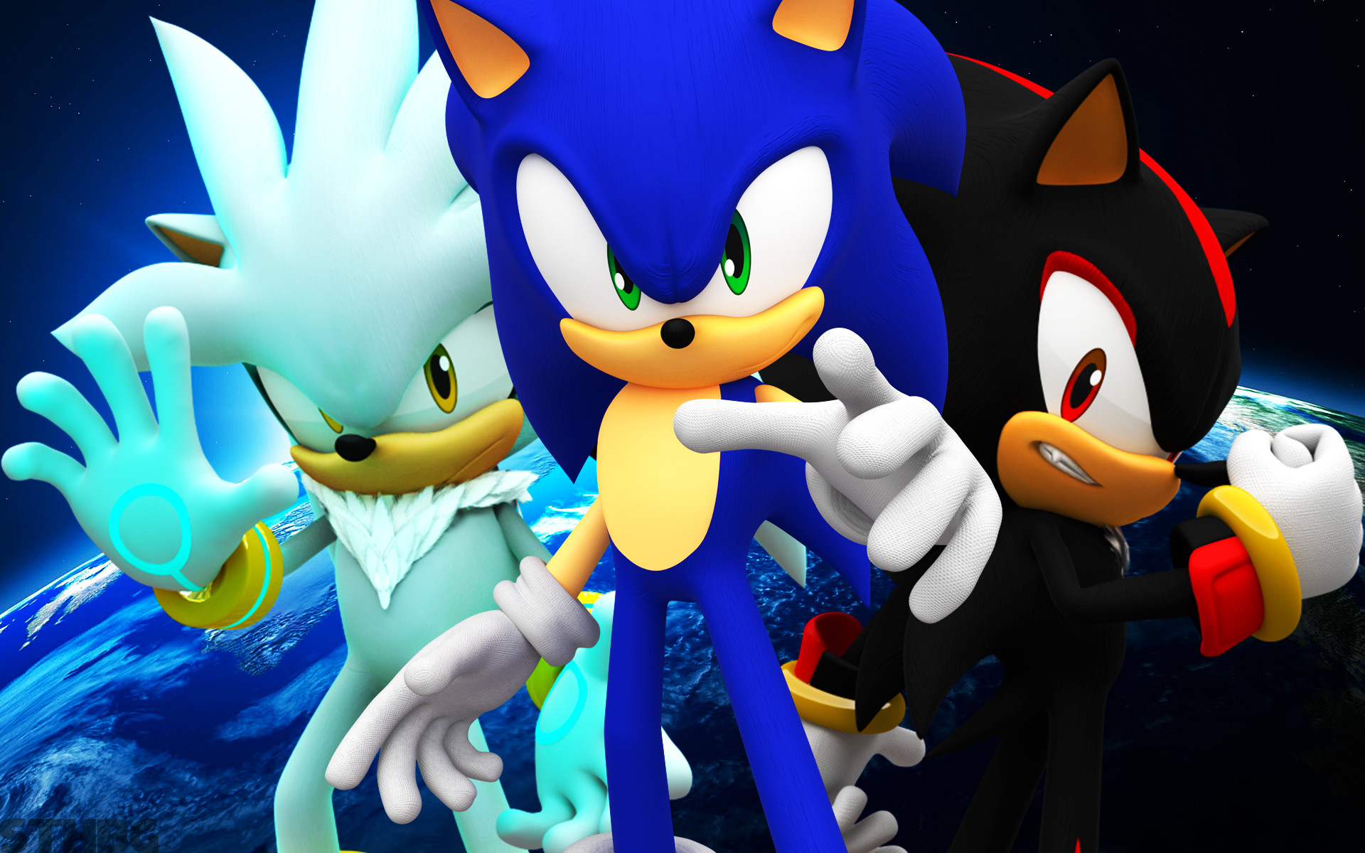 Sonic Shadow And Silver wallpaper – 1233424