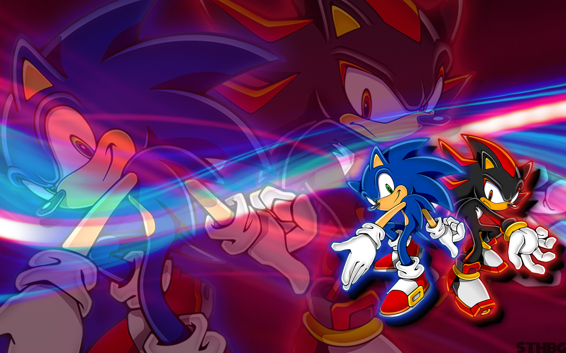 Sonic,Shadow And Silver Wallpaper By SonicTheHedgehogBG On DeviantArt