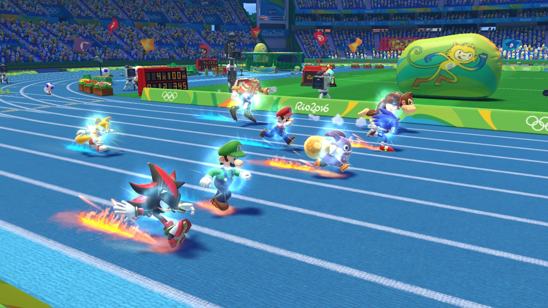 Mario and Sonic at the Rio 2016 Olymic Games 4K Wallpaper …