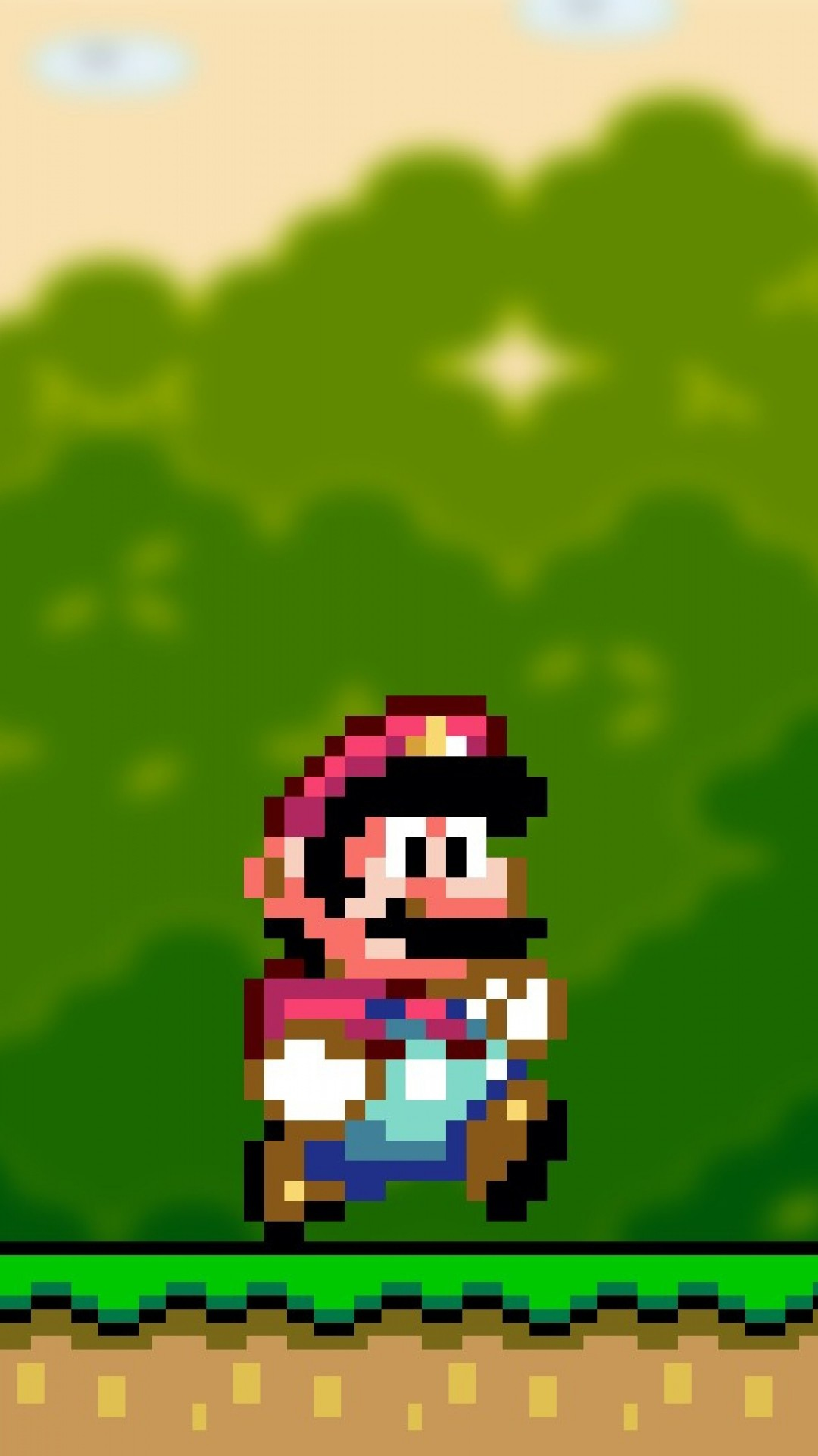 Mario-Wallpaper for iPhone.