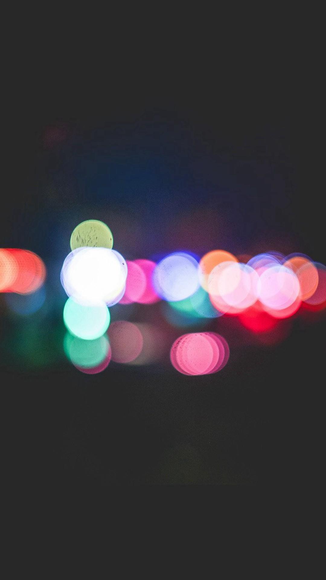 Bokeh Art Light Dark Pattern Color #iPhone #6 #plus #wallpaper
