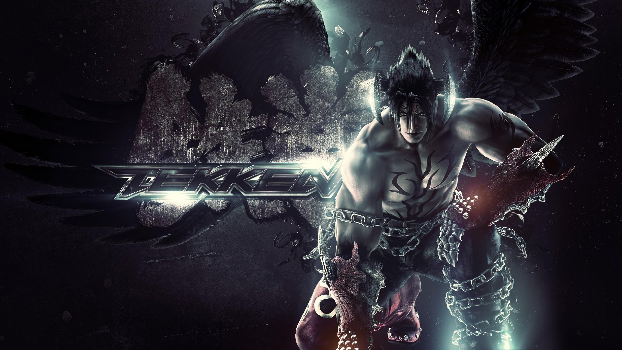 Wallpaper tekken, game, devil jin, fighting, fighter, video game