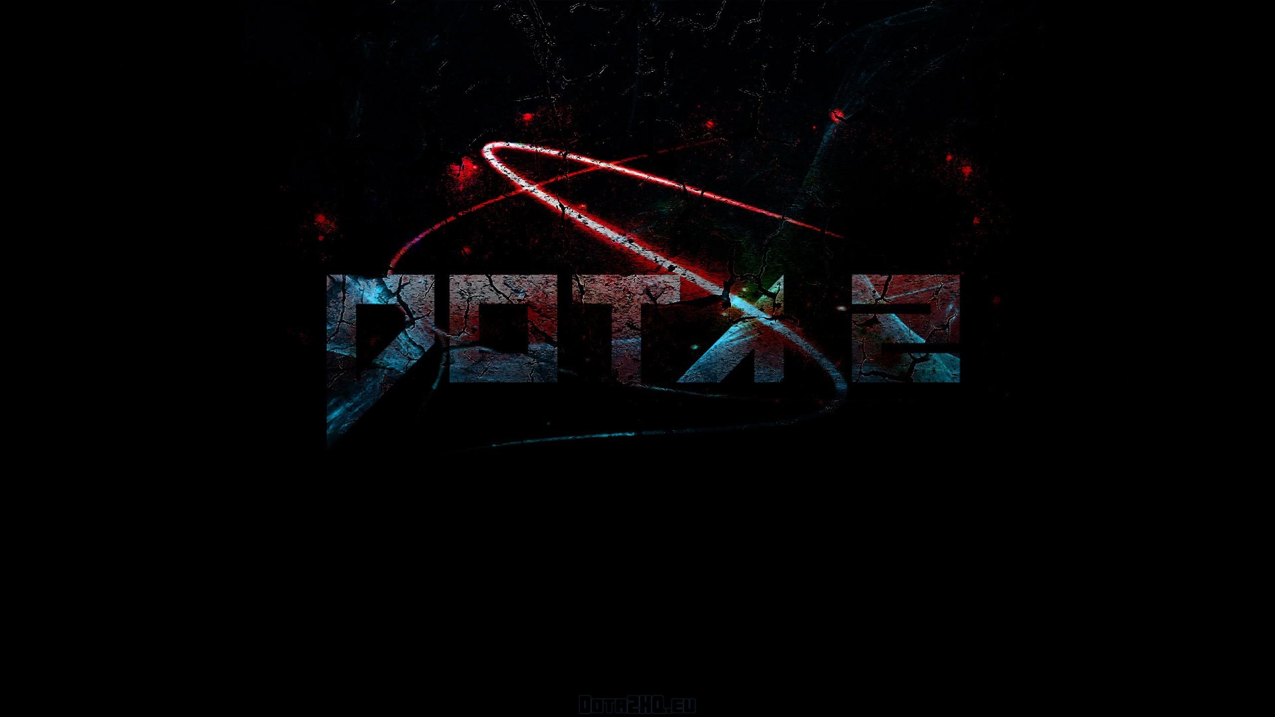Wallpaper dota 2, logo, game