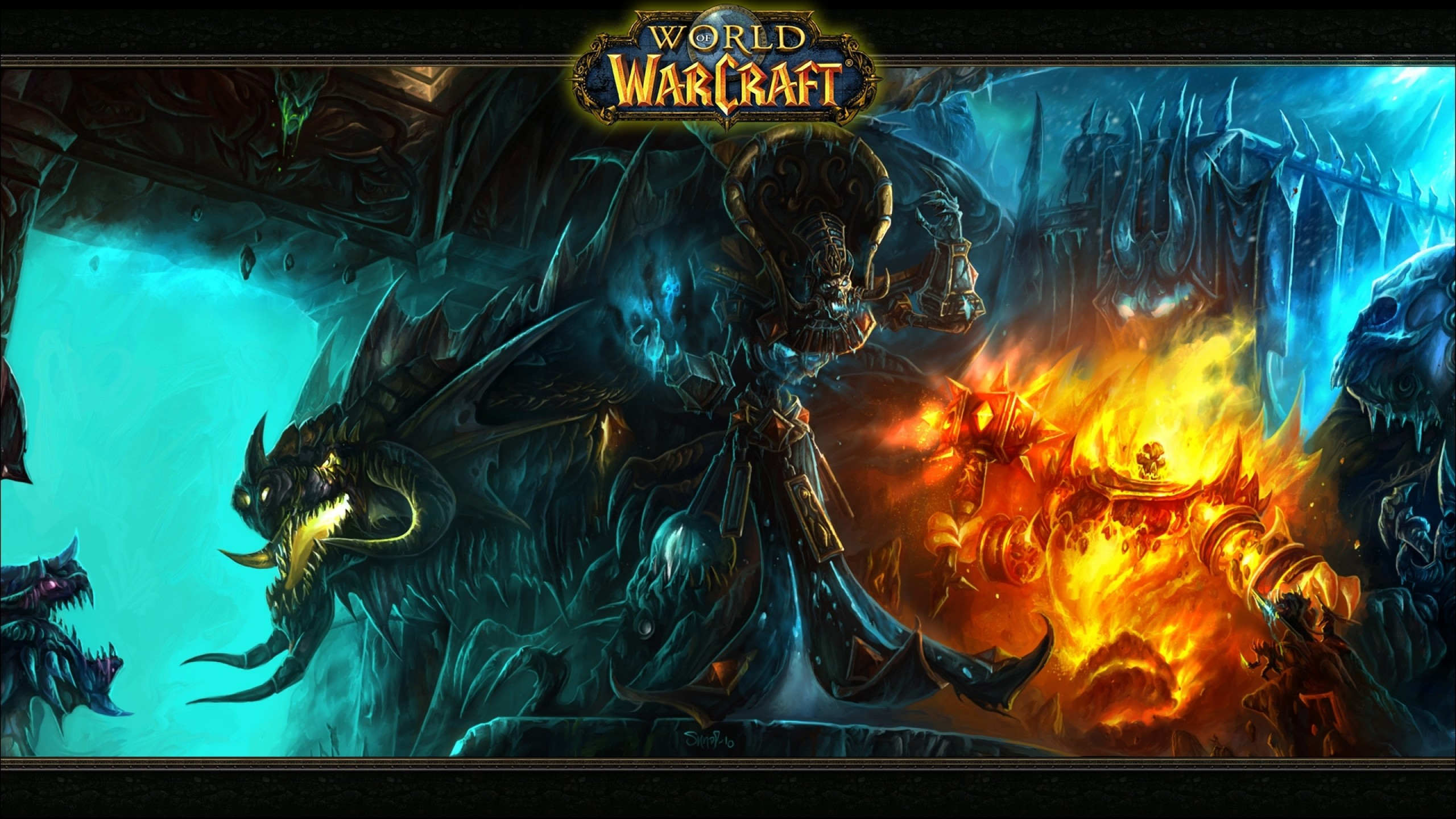 Wallpaper world of warcraft, monsters, characters, game