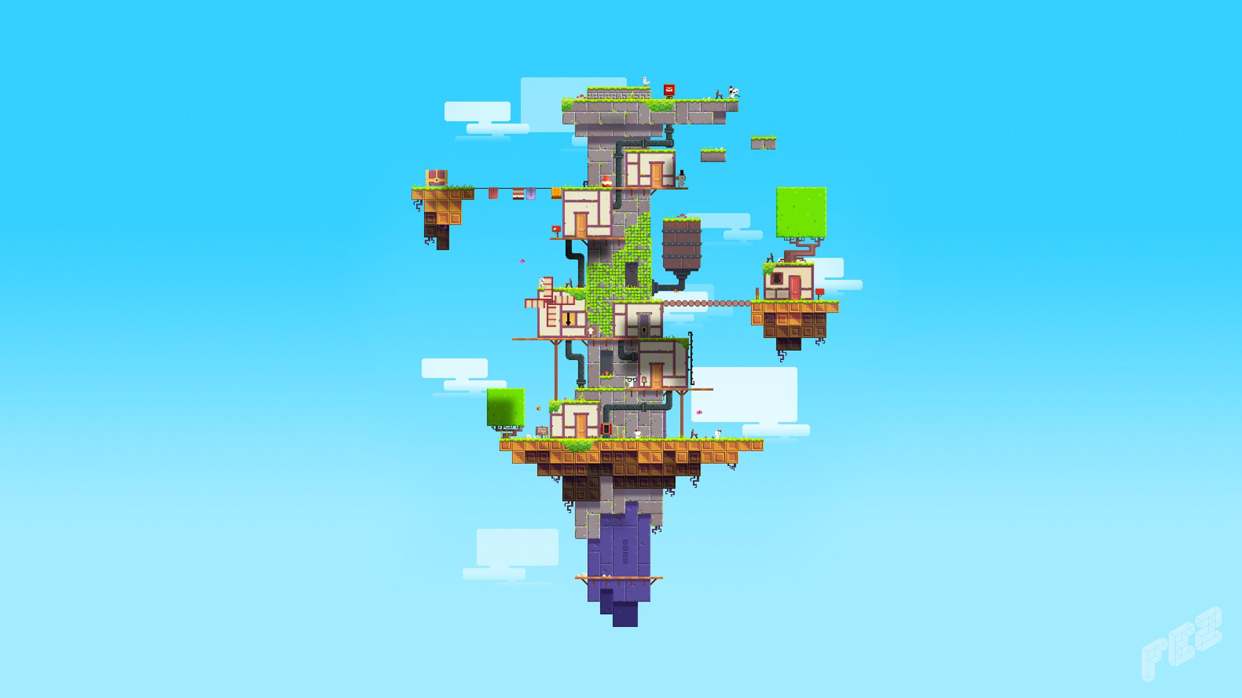 Fez Game Wallpaper