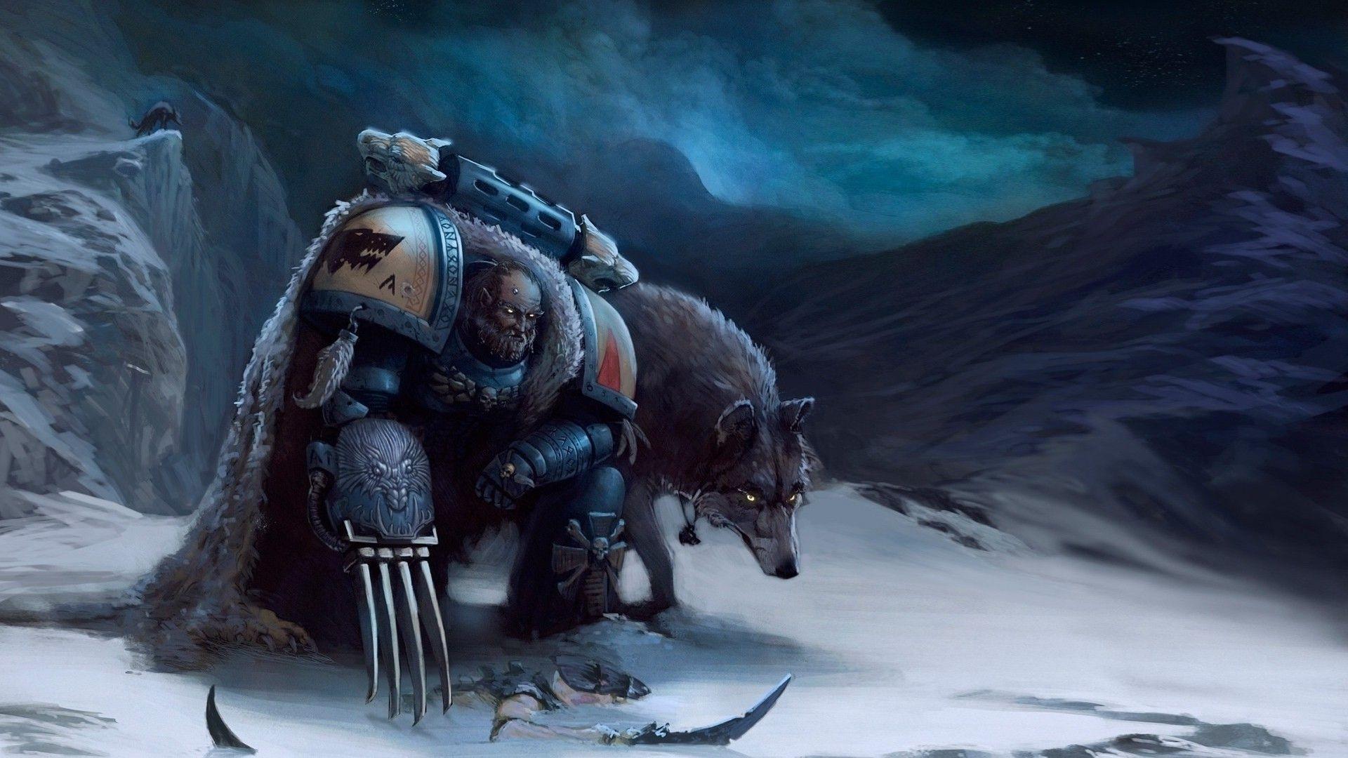 games warhammer warhammer 40k warhammer 40000 space wolf .