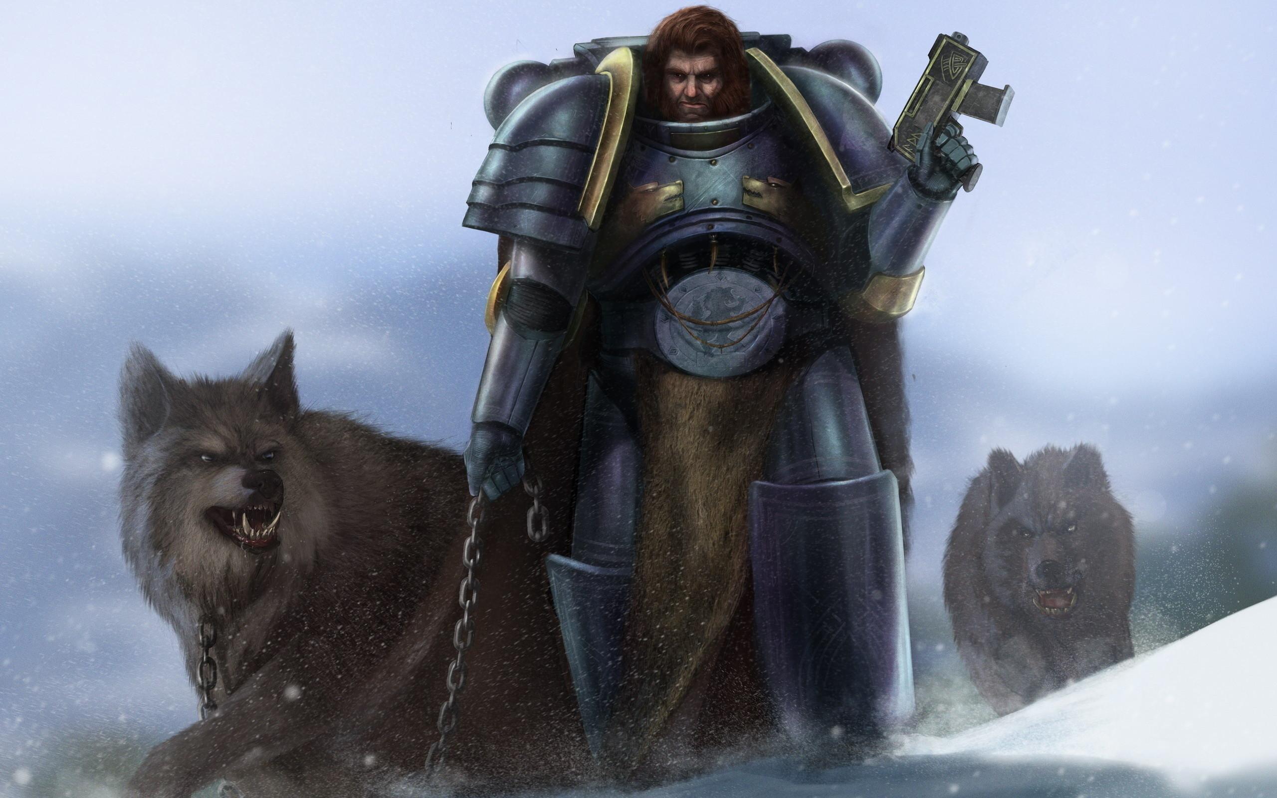 Video Game – Warhammer 40K Wolf Game Warhammer Wallpaper