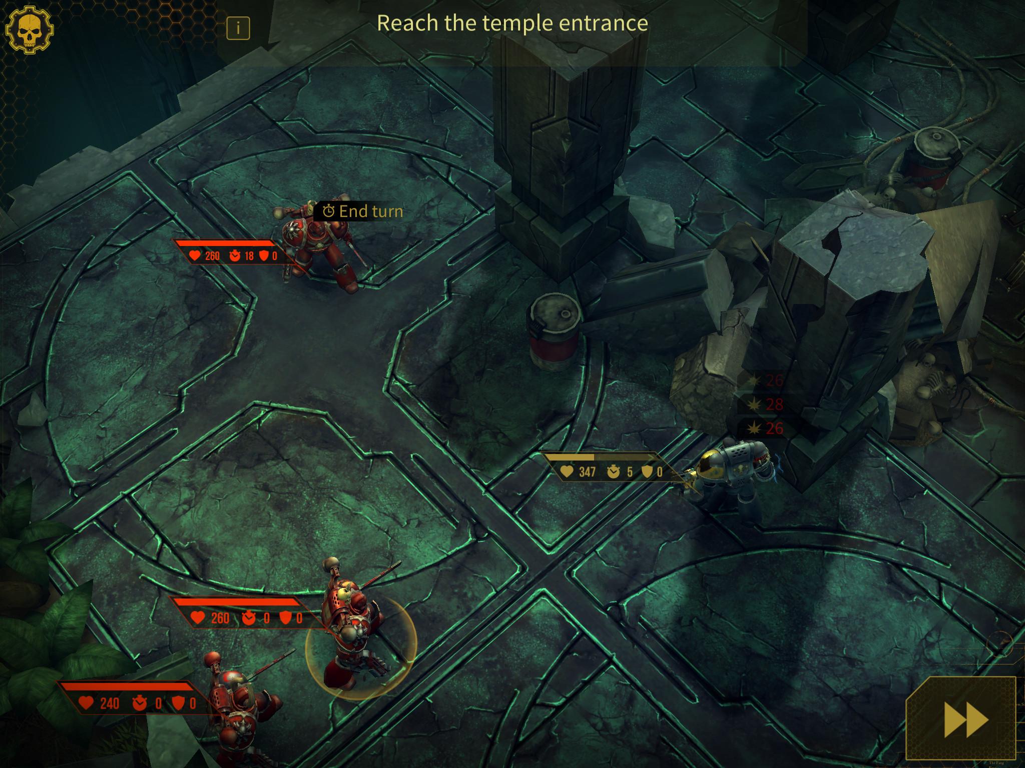 Warhammer 40,000: Space Wolf iPad, screenshot 3