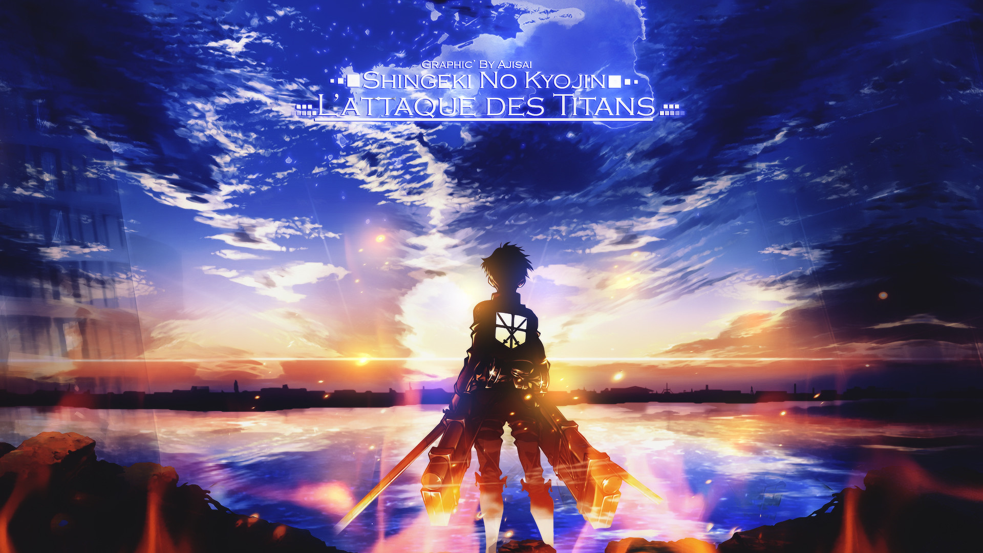 Tags: Anime, Attack on Titan, Eren Jaeger, HD Wallpaper, Facebook Cover