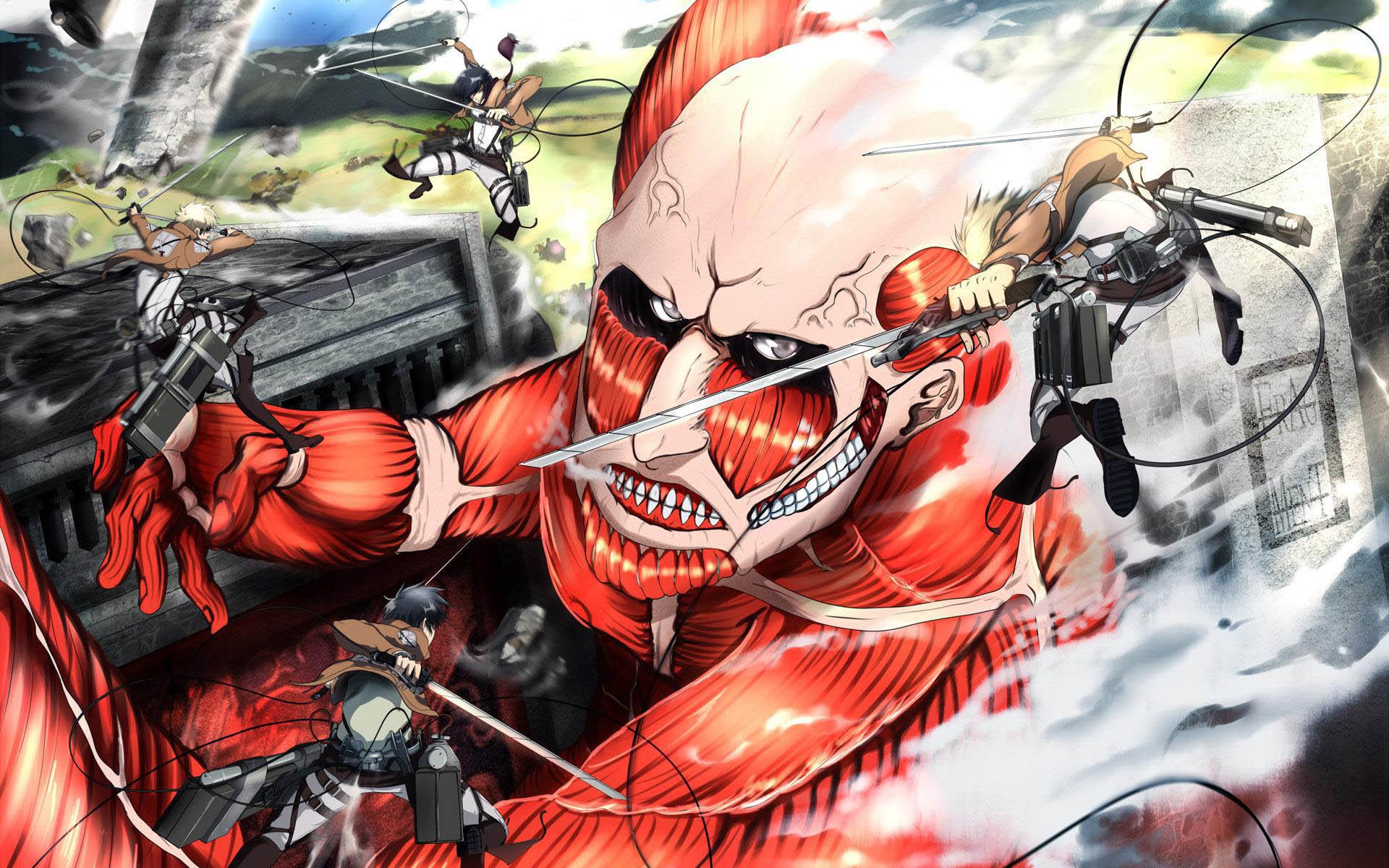 Attack on Titan Wallpaper wallpaper