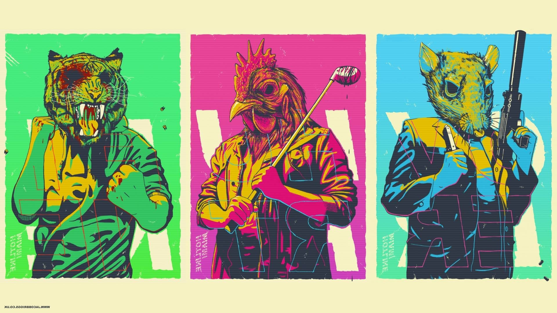 Hotline Miami, Video Games Wallpapers HD / Desktop and Mobile Backgrounds