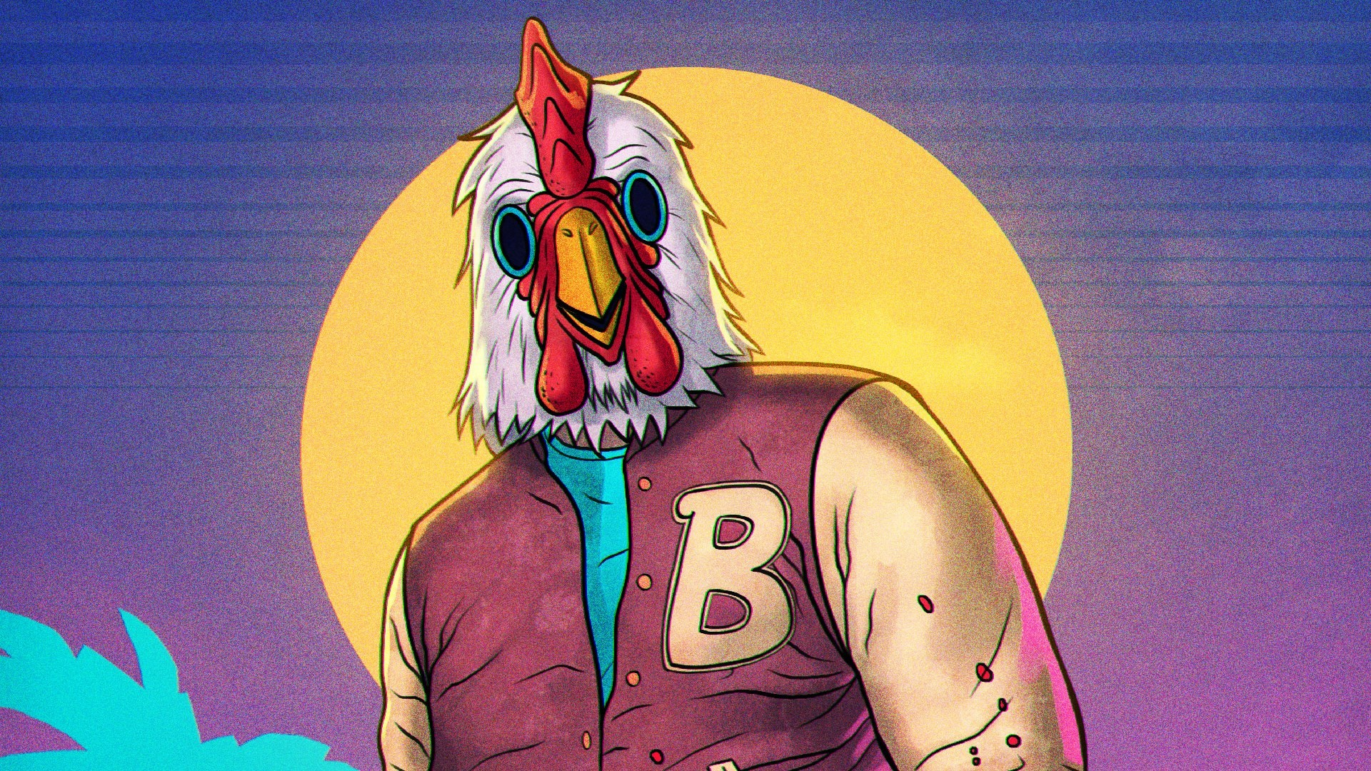 HQ RES hotline miami 2 wrong number pic, Smith Butler 2017-03-22