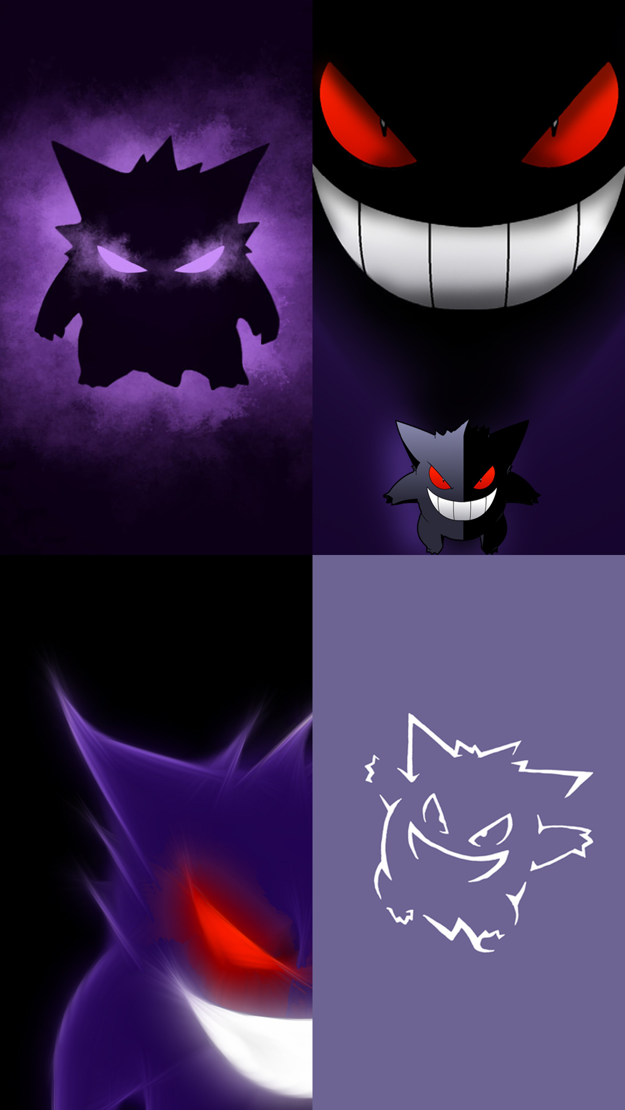 … Pokemon Gengar IPhone 5 wallpapers by Acester8