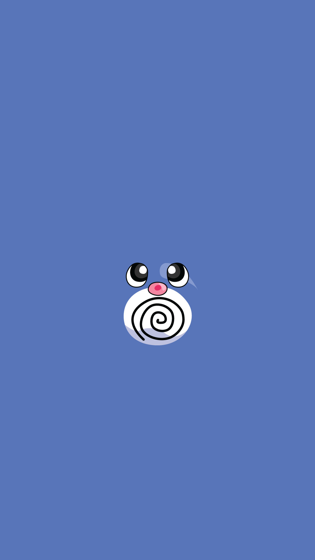Poliwag Pokemon iPhone 6+ HD Wallpaper – https://freebestpicture.com/
