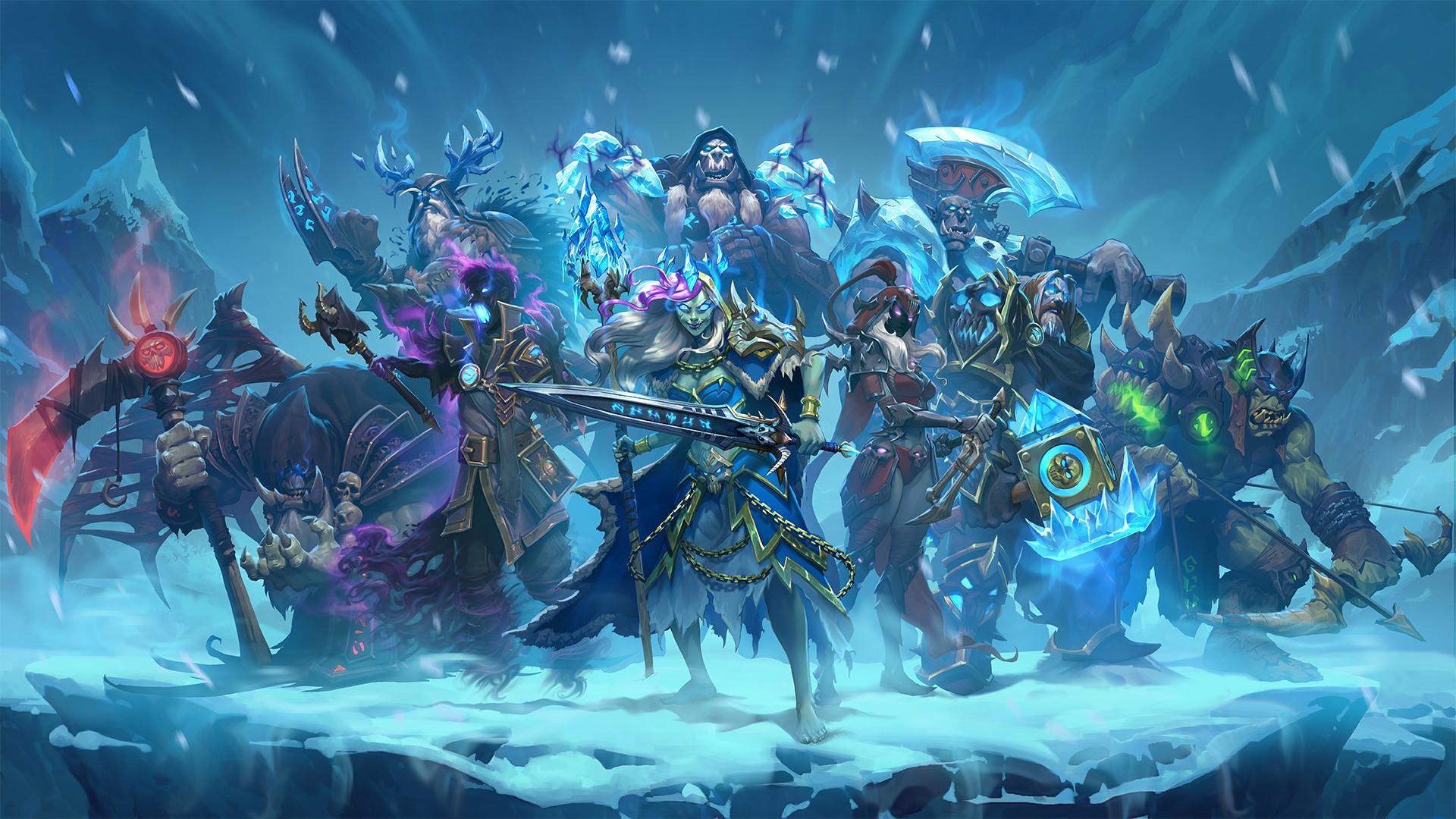 … Wallpaper Death Knight Heroes