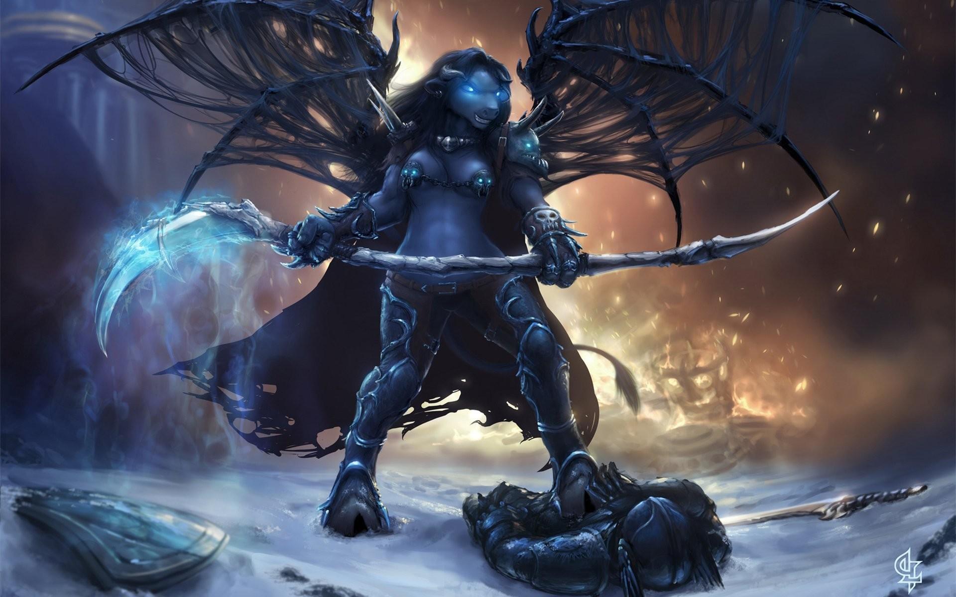 world of warcraft wow deathknight fanart tauren pvp spit wings flame magic