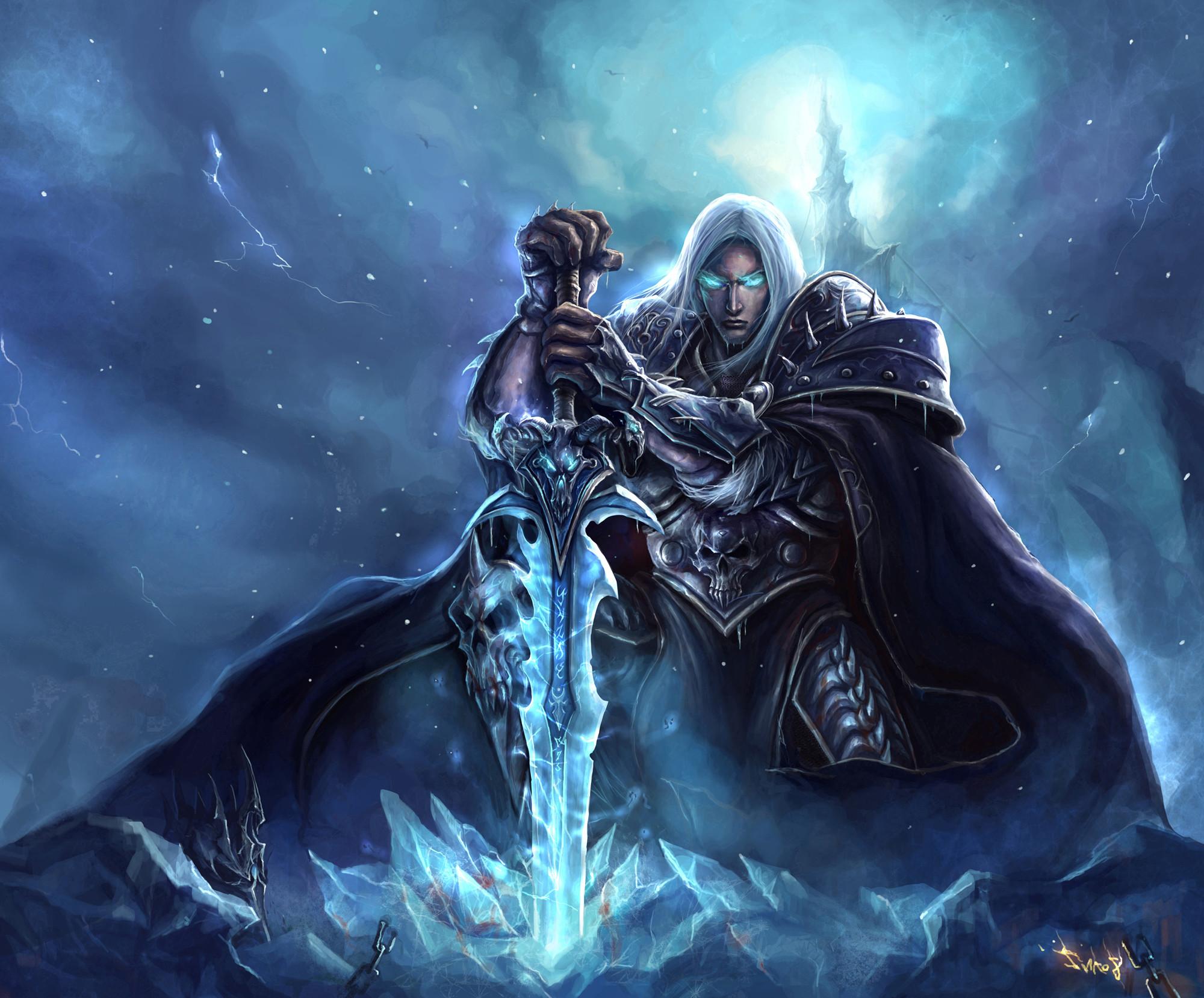Frostmourne #Warcraft · Lich KingDeath KnightHigh …
