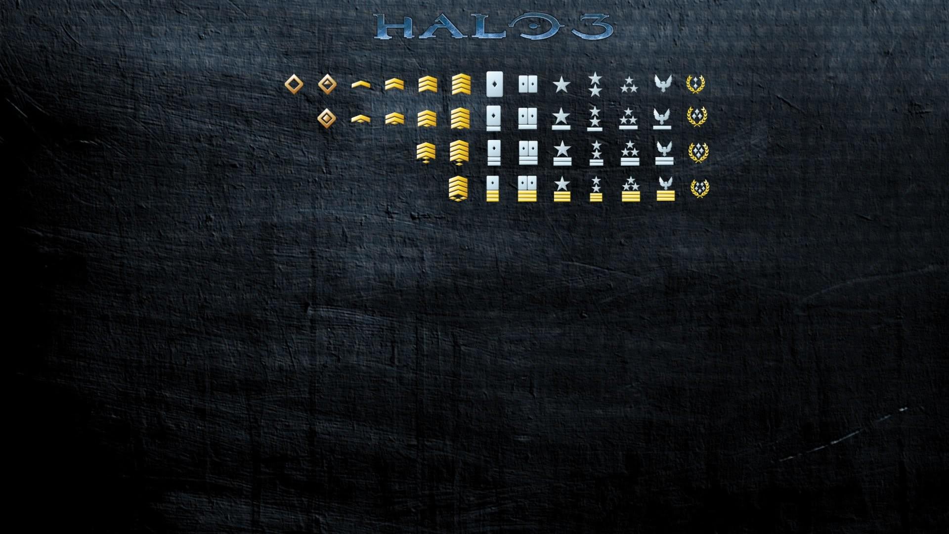 Csgo; halo 3 ranks Halo 3 Ranks; 143547