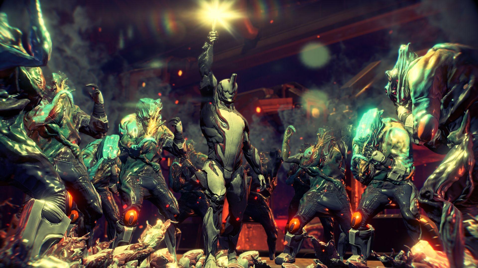 Entwicklung der PS4-Version von Warframe dauerte nur drei Monate .