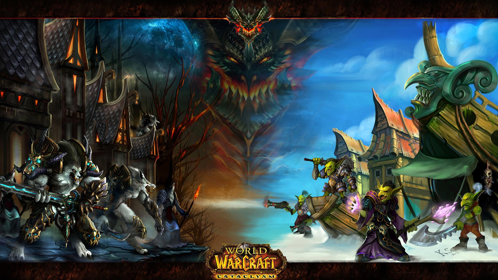 images of world of warcraft goblins | Wallpaper world of warcraft  cataclysm, goblins, Worgen