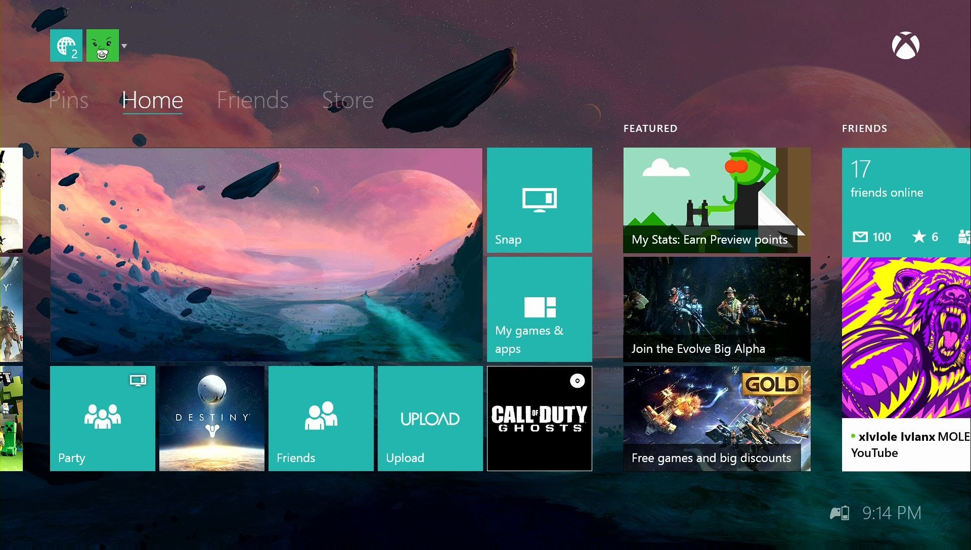How To Have Custom Xbox One Dashboard Background! Custom Xbox One Themes –  YouTube