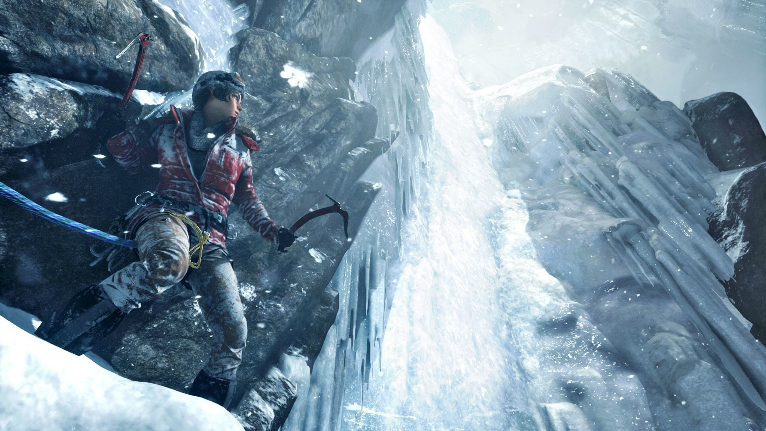 Preview wallpaper rise of the tomb raider, square enix, xbox one 2560×1440
