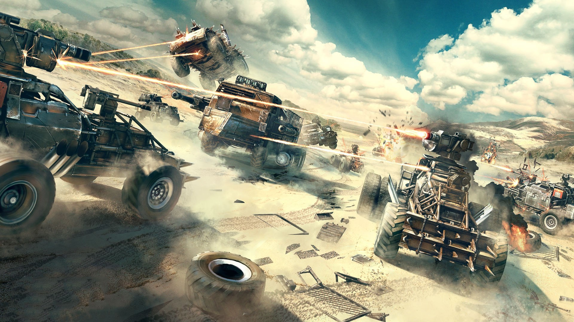 The apocalyptic vehicular MOBA is available on PC, Xbox One and PlayStation  4. It's great fun and best of all it is FREE! So check it out on Steam, …