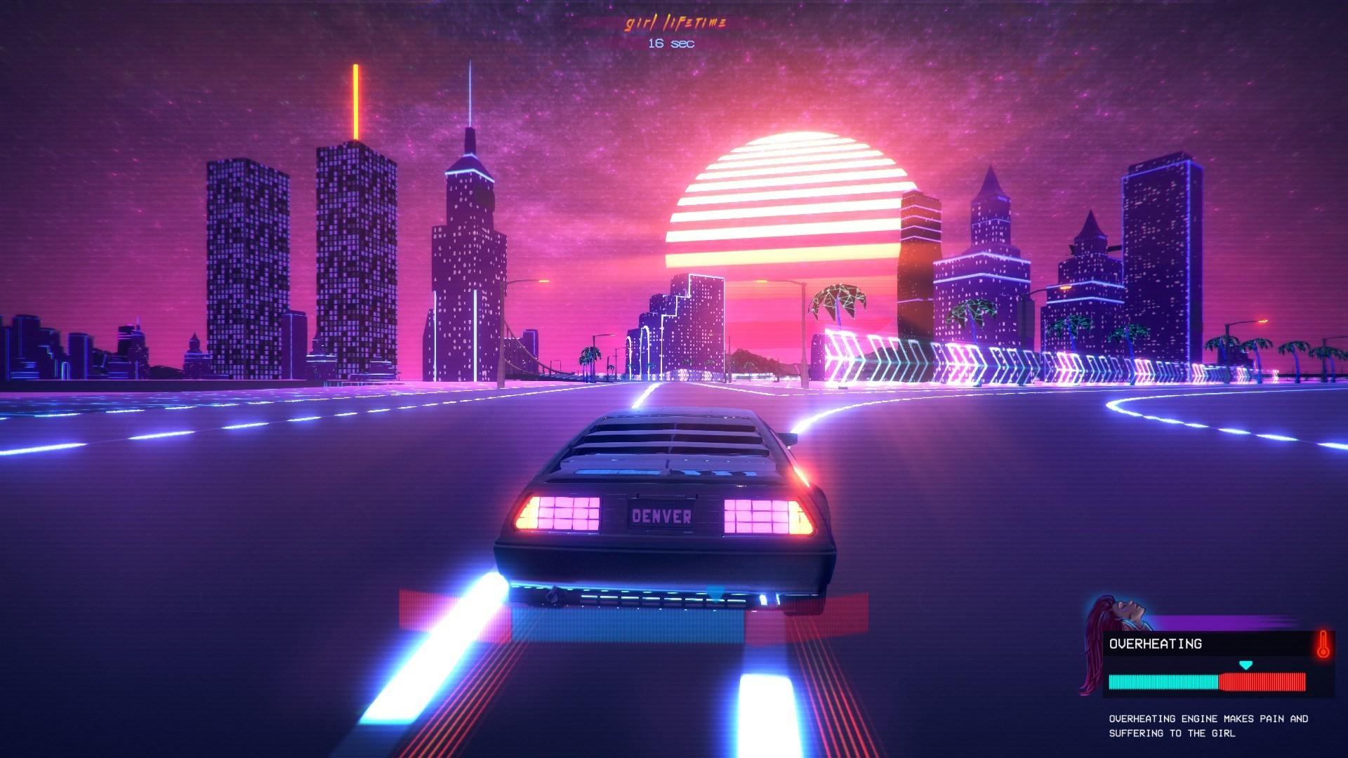 Outdrive-Review-Screenshot-Wallpaper-Neon-City.jpg (1920×1080) | Neon Wave  | Pinterest | Dream city