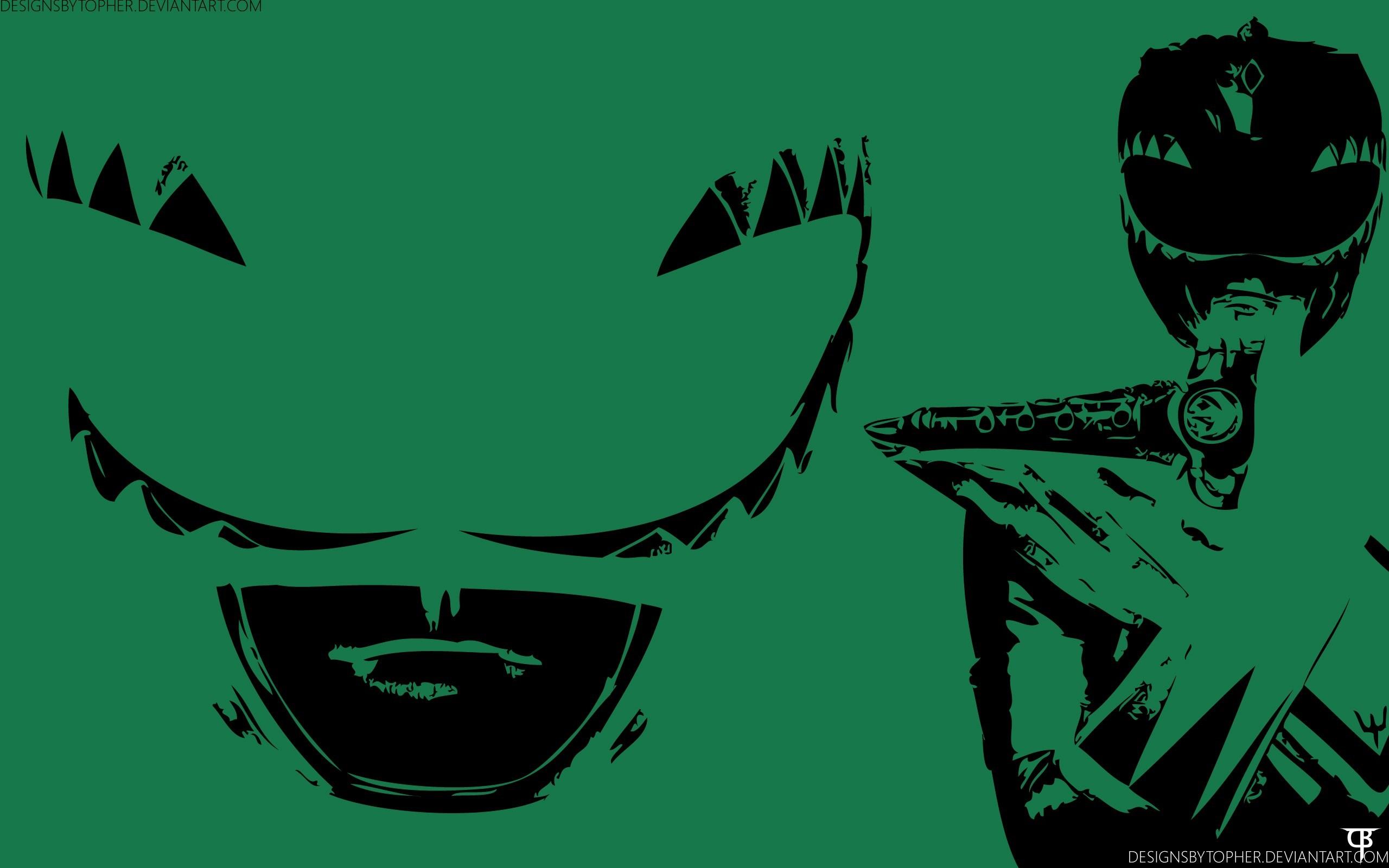 green mighty morphin power ranger wallpaper …