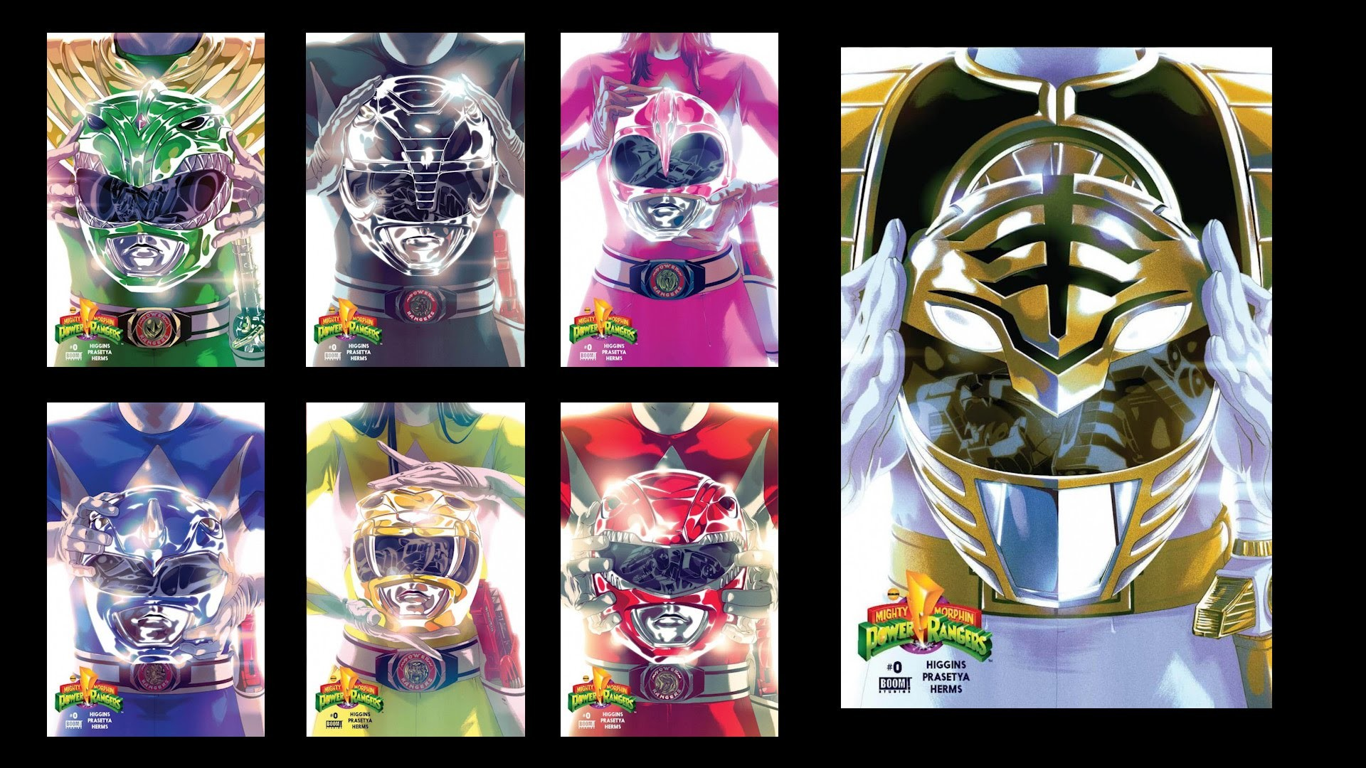 Mighty Morphin Power Rangers Boom Comic Issue 0 Review   Airlim – YouTube