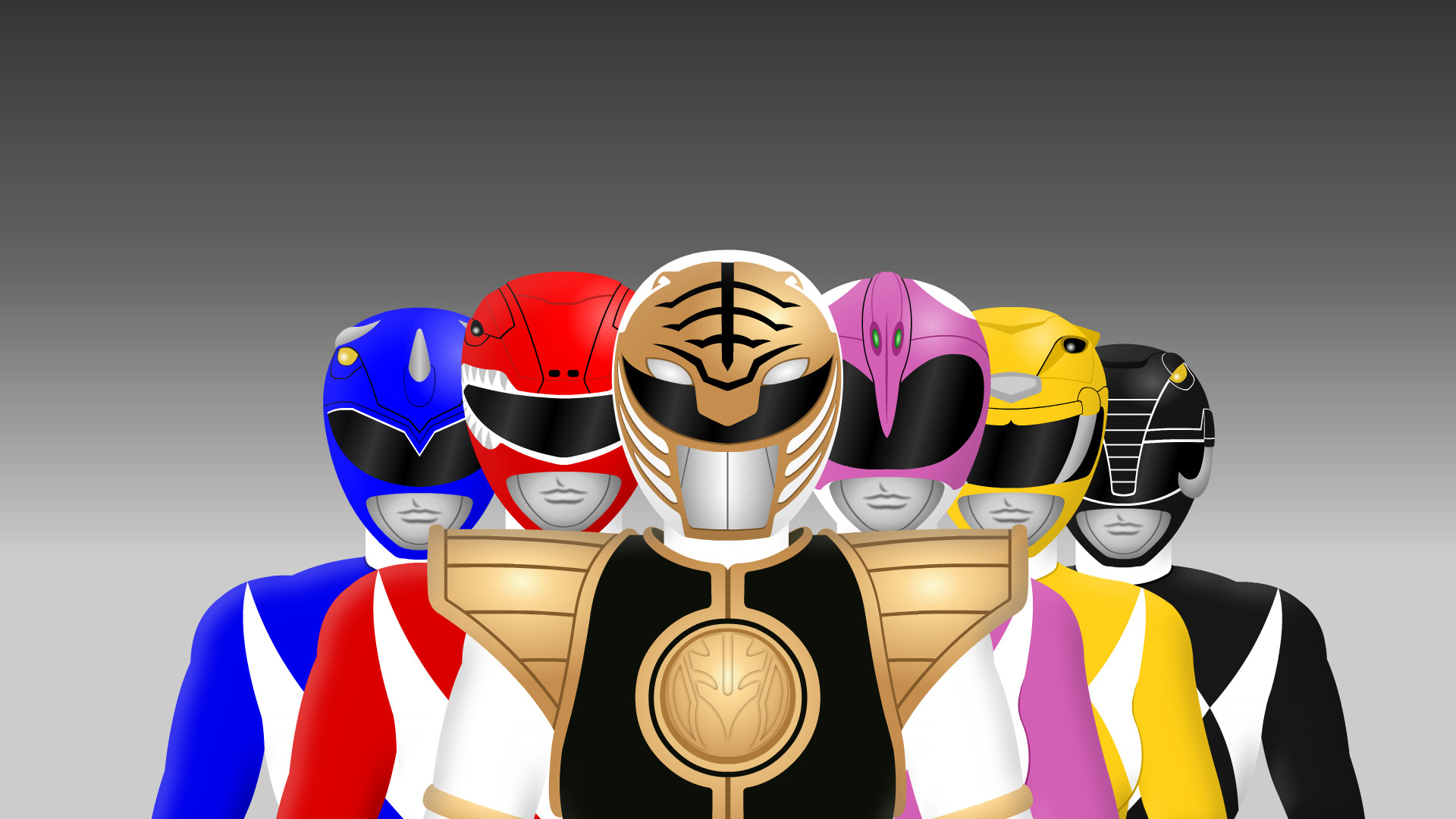Mighty Morphin Power Rangers by Yurtigo Mighty Morphin Power Rangers by  Yurtigo