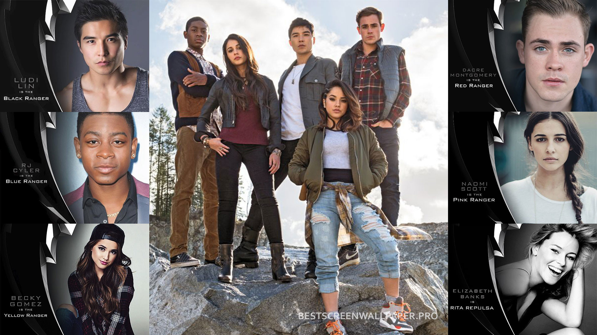 Power Rangers movie wallpaper HD film 2017 poster image