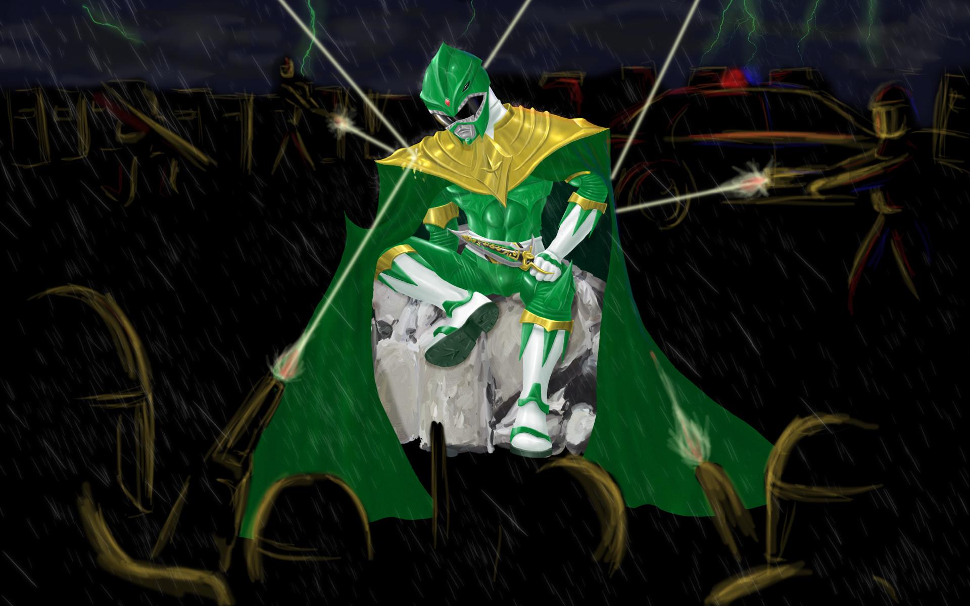 Green Ranger Dragonzord Wallpaper Green storm by maxvolnutt