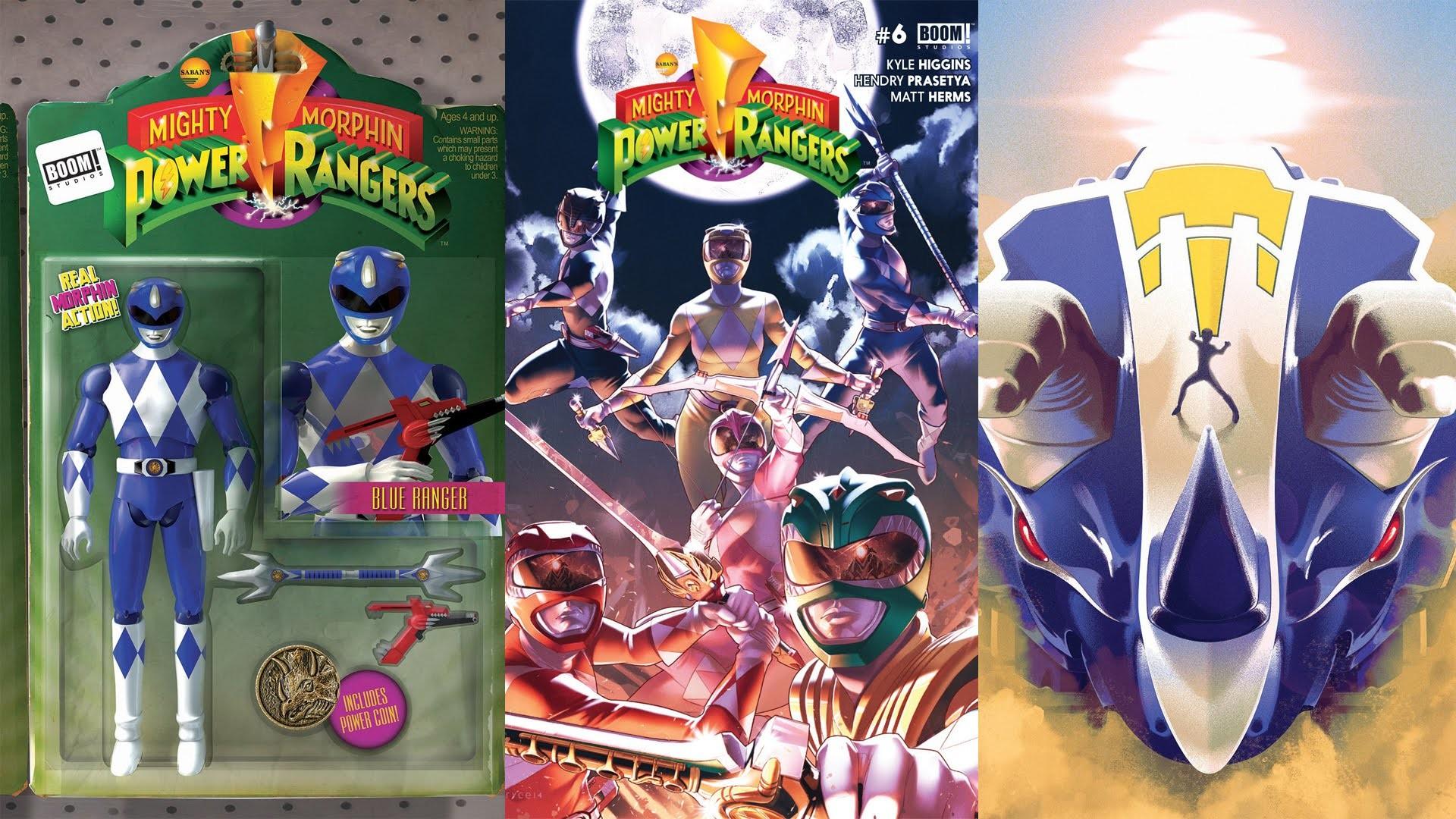 Mighty Morphin Power Rangers BOOM! Studios Comic #6
