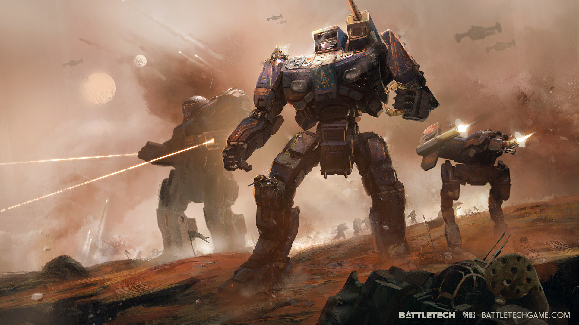 Jordan Weisman, the creator of BattleTech and MechWarrior, is back with the  first turn-based BattleTech game for PC in over two decades.